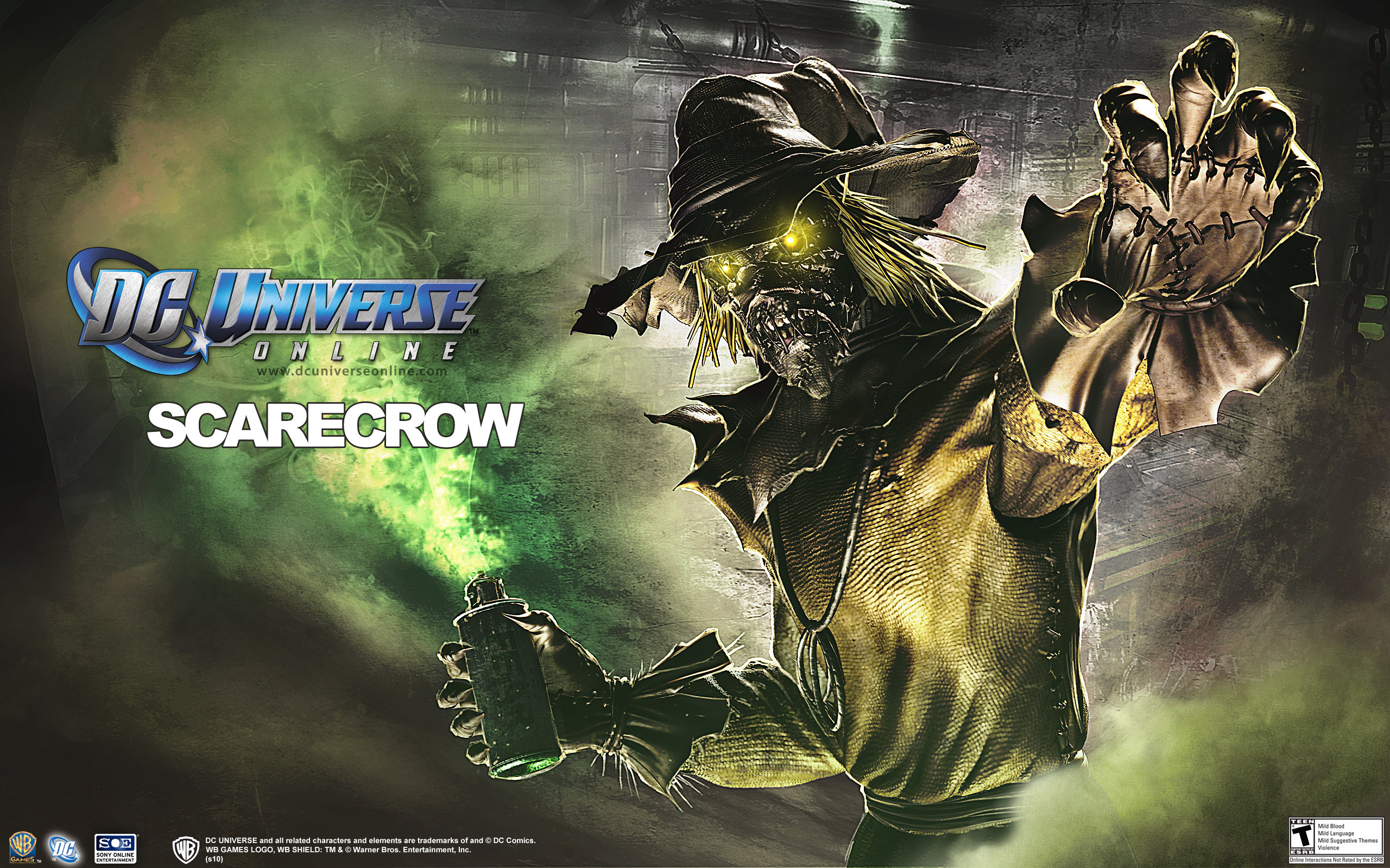Download hd 2560x1600 DC Universe Online desktop wallpaper ID:246873 for free