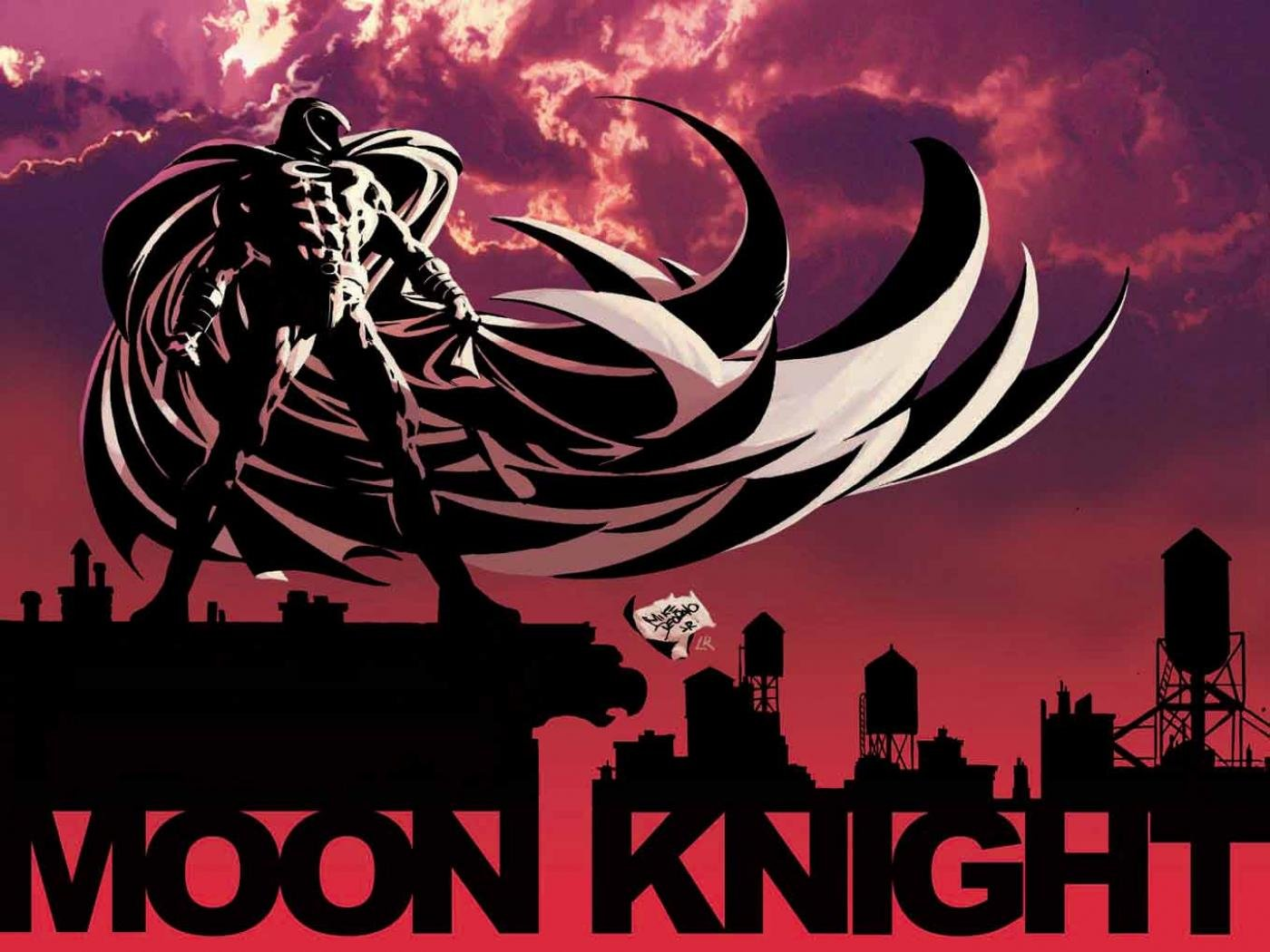 Best Moon Knight wallpaper ID:17837 for High Resolution hd 1400x1050 PC