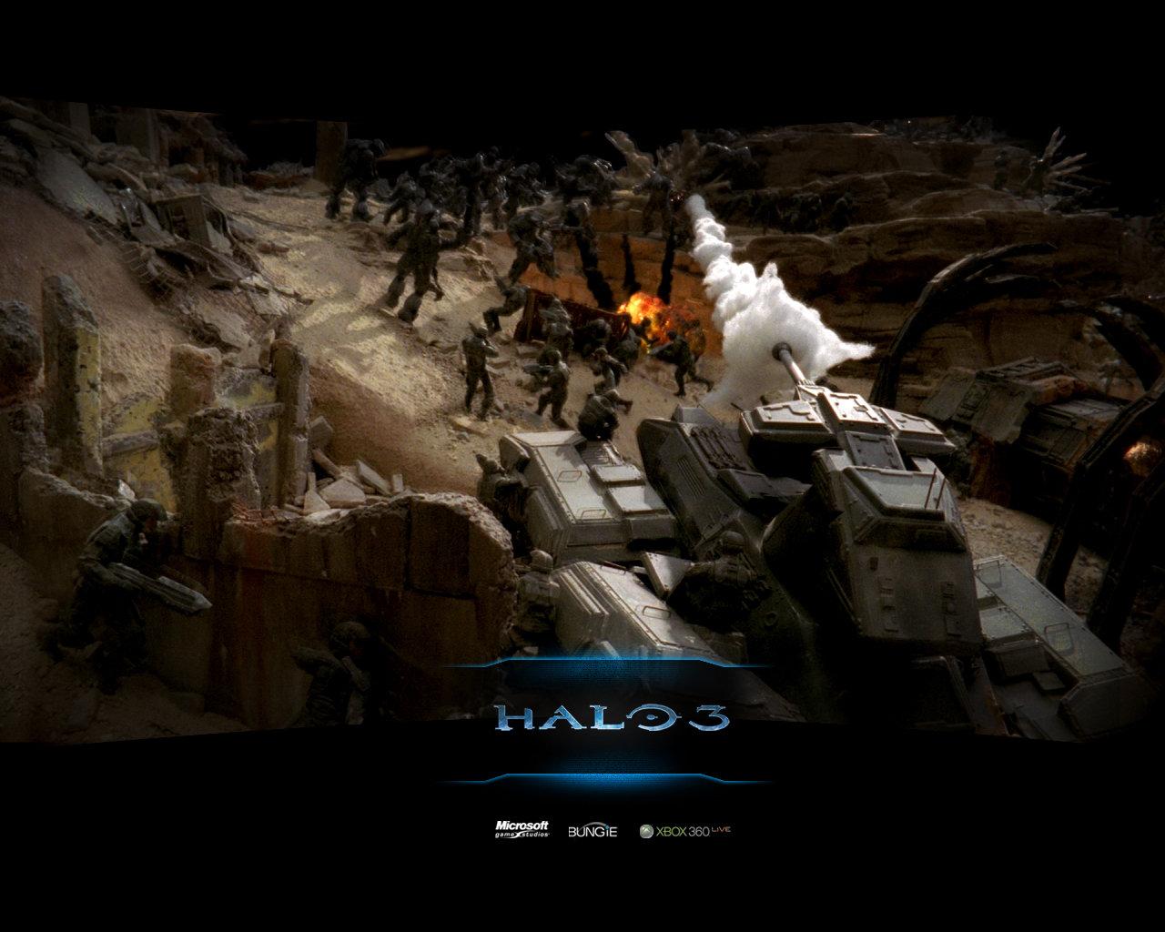Halo 3 Wallpapers 1280x1024 Desktop Backgrounds