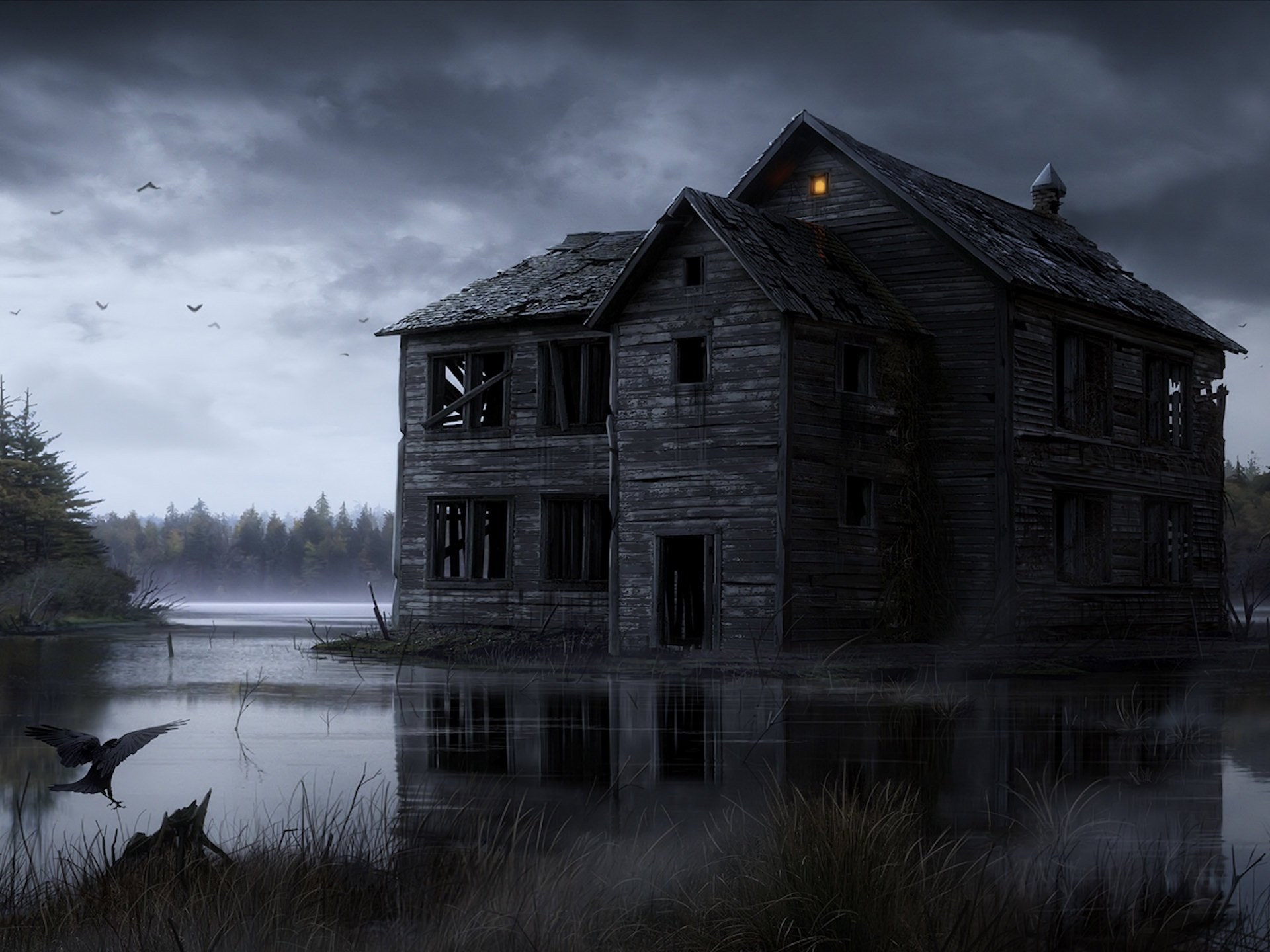 Free Haunted high quality background ID:447032 for hd 1920x1440 PC