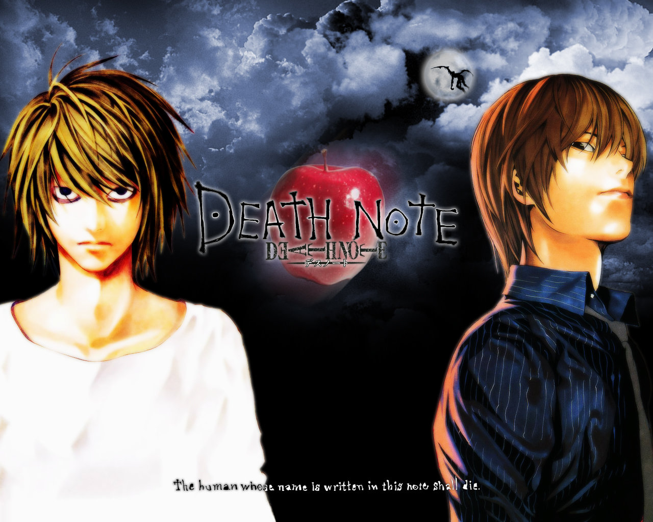 Download hd 1280x1024 Death Note desktop background ID:402630 for free