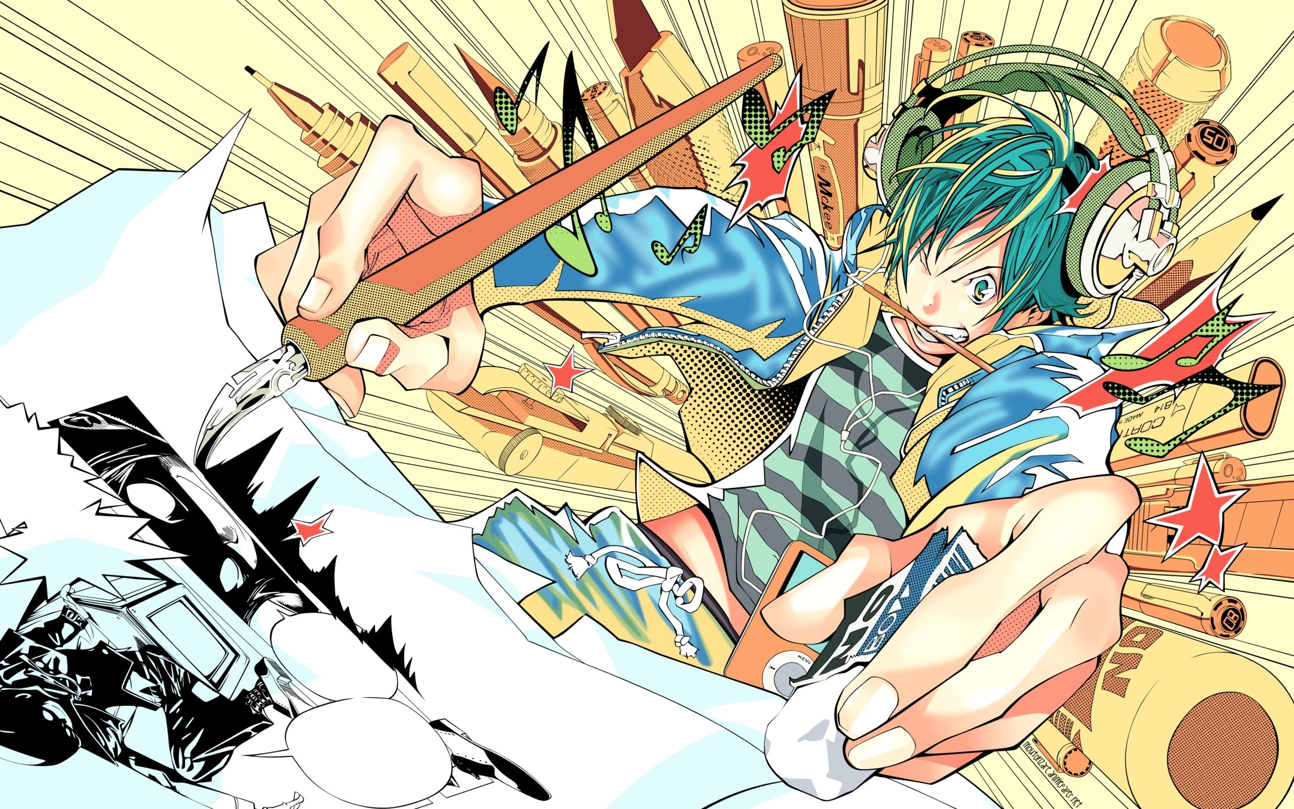Awesome Bakuman free wallpaper ID:470454 for hd 2560x1600 PC