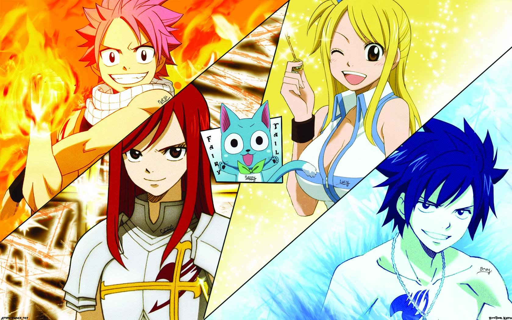 Best Fairy Tail background ID:40779 for High Resolution hd 1680x1050 PC