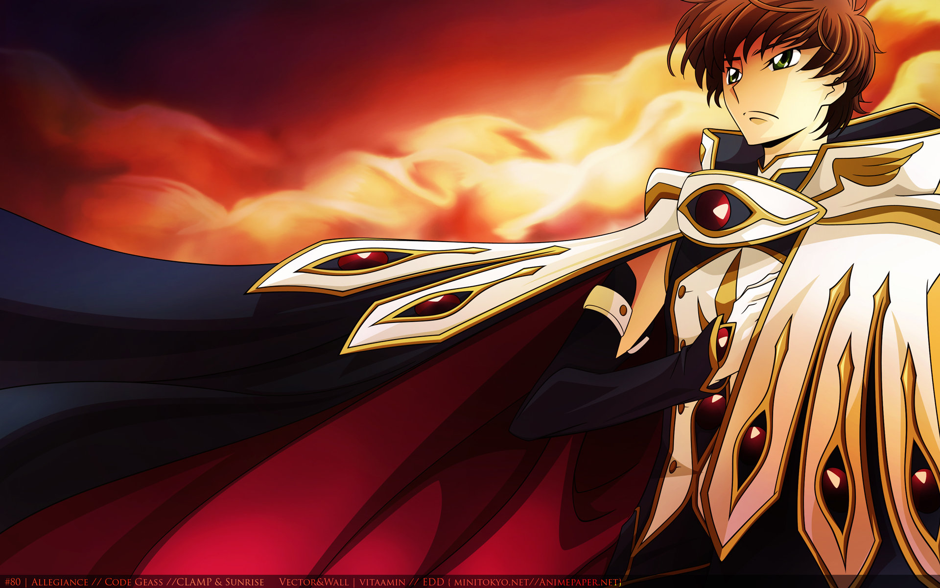 Free download Suzaku Kururugi background ID:43814 hd 1920x1200 for desktop