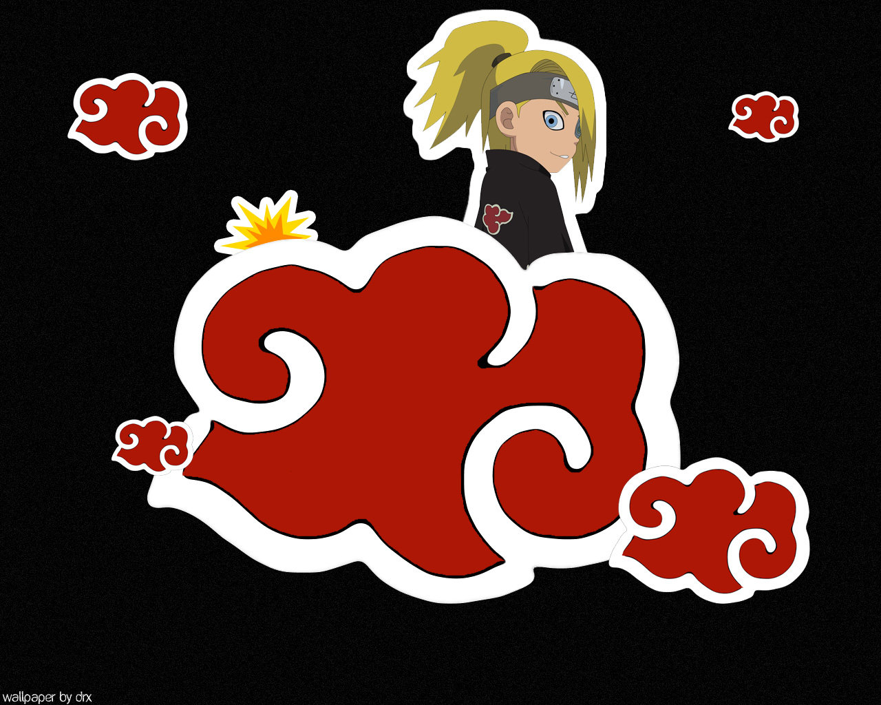 Free download Deidara (Naruto) background ID:395940 hd 1280x1024 for desktop
