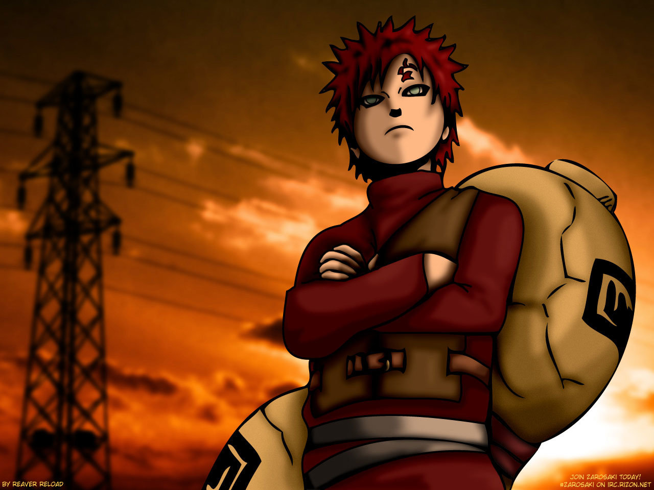 High resolution Gaara (Naruto) hd 1280x960 background ID:396237 for PC