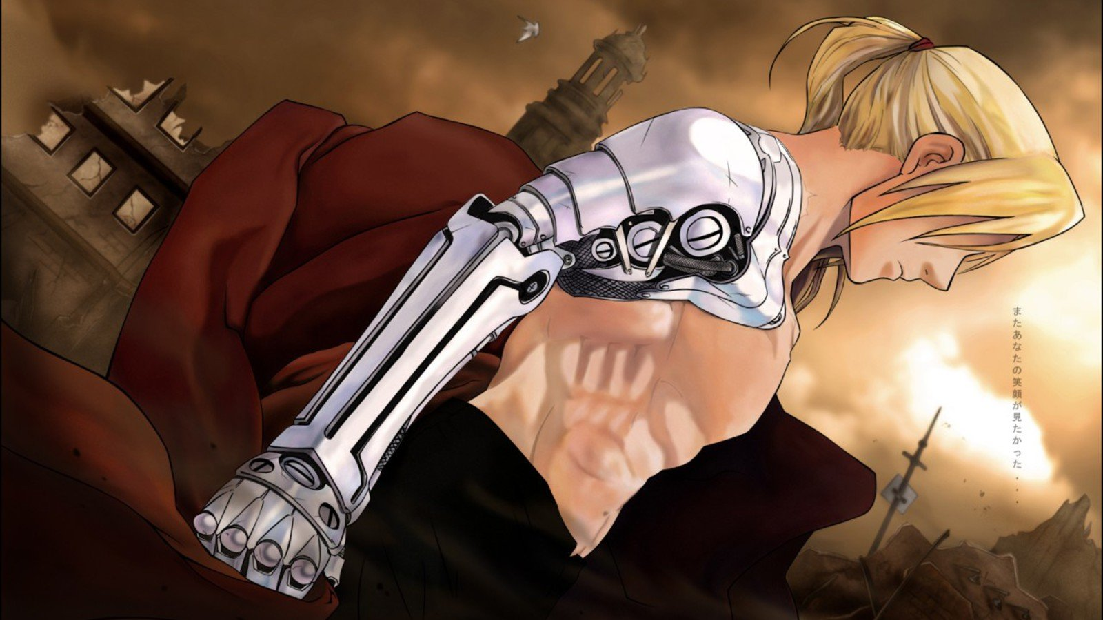 Download hd 1600x900 FullMetal Alchemist (FMA) computer wallpaper ID:311152 for free