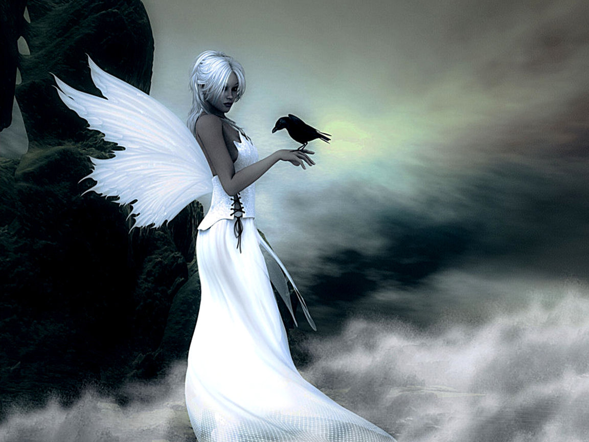 High resolution Angel hd 1152x864 background ID:7117 for desktop