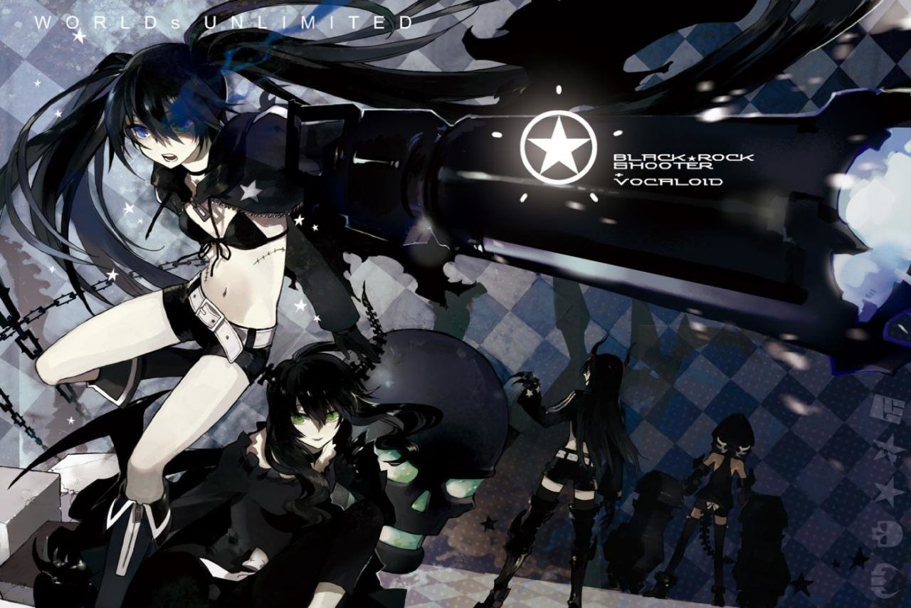 Free Download Dead Master Black Rock Shooter Wallpaper ID454945 Hd 1280x854 For