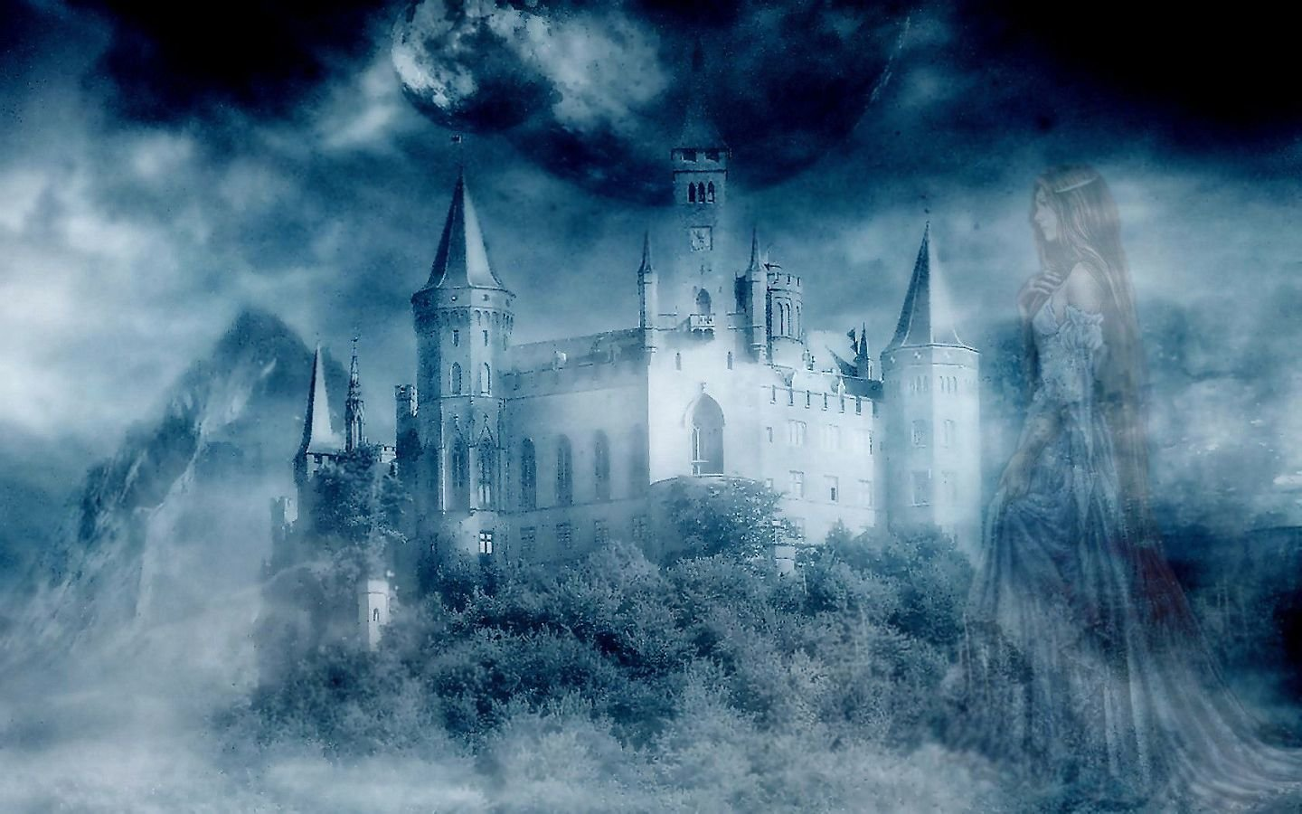 Best Fantasy castle wallpaper ID:236281 for High Resolution hd 1440x900 desktop