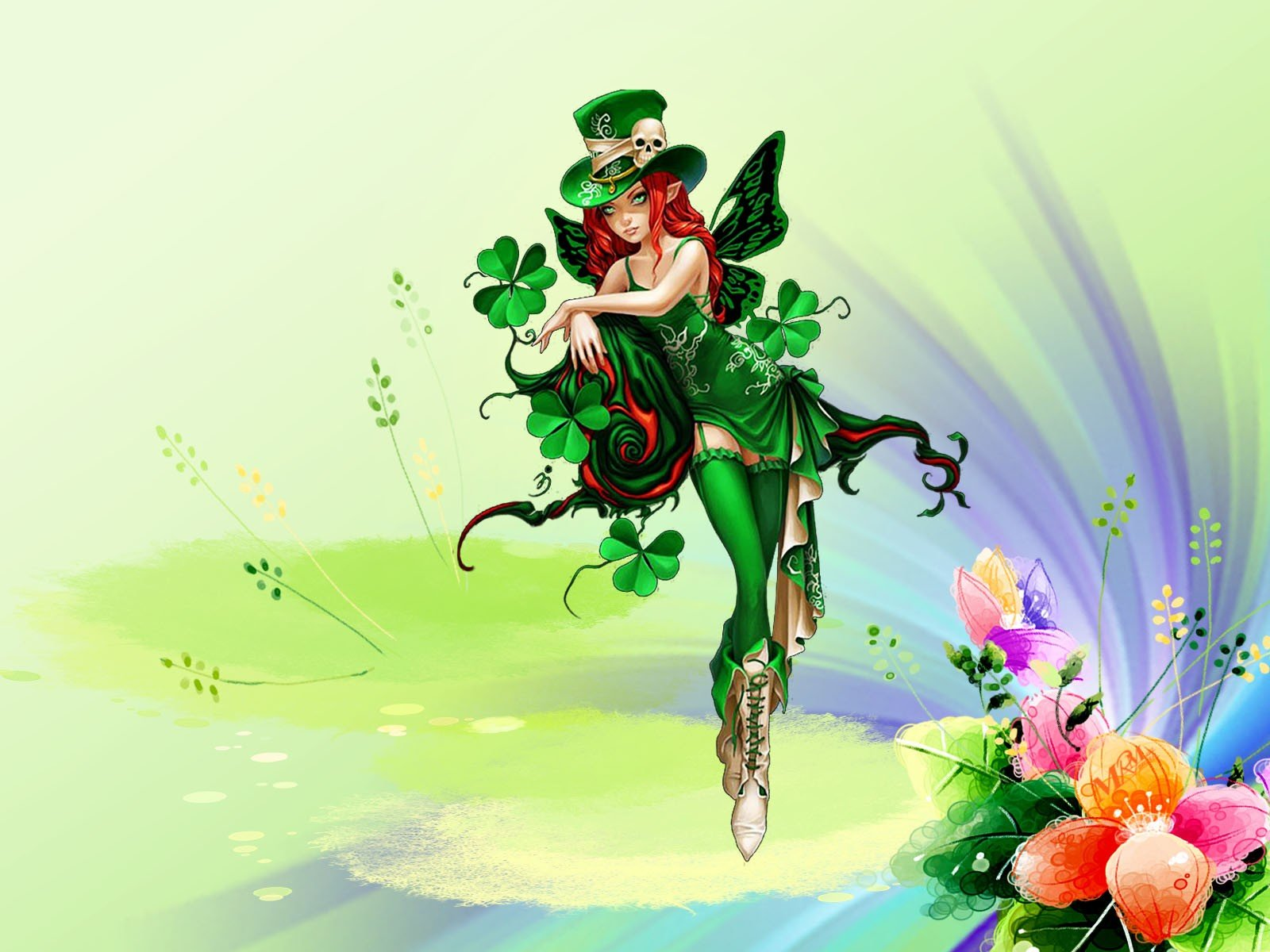 Free Download St Patrick S Day Wallpaper Id 89713 Hd 1600x1200