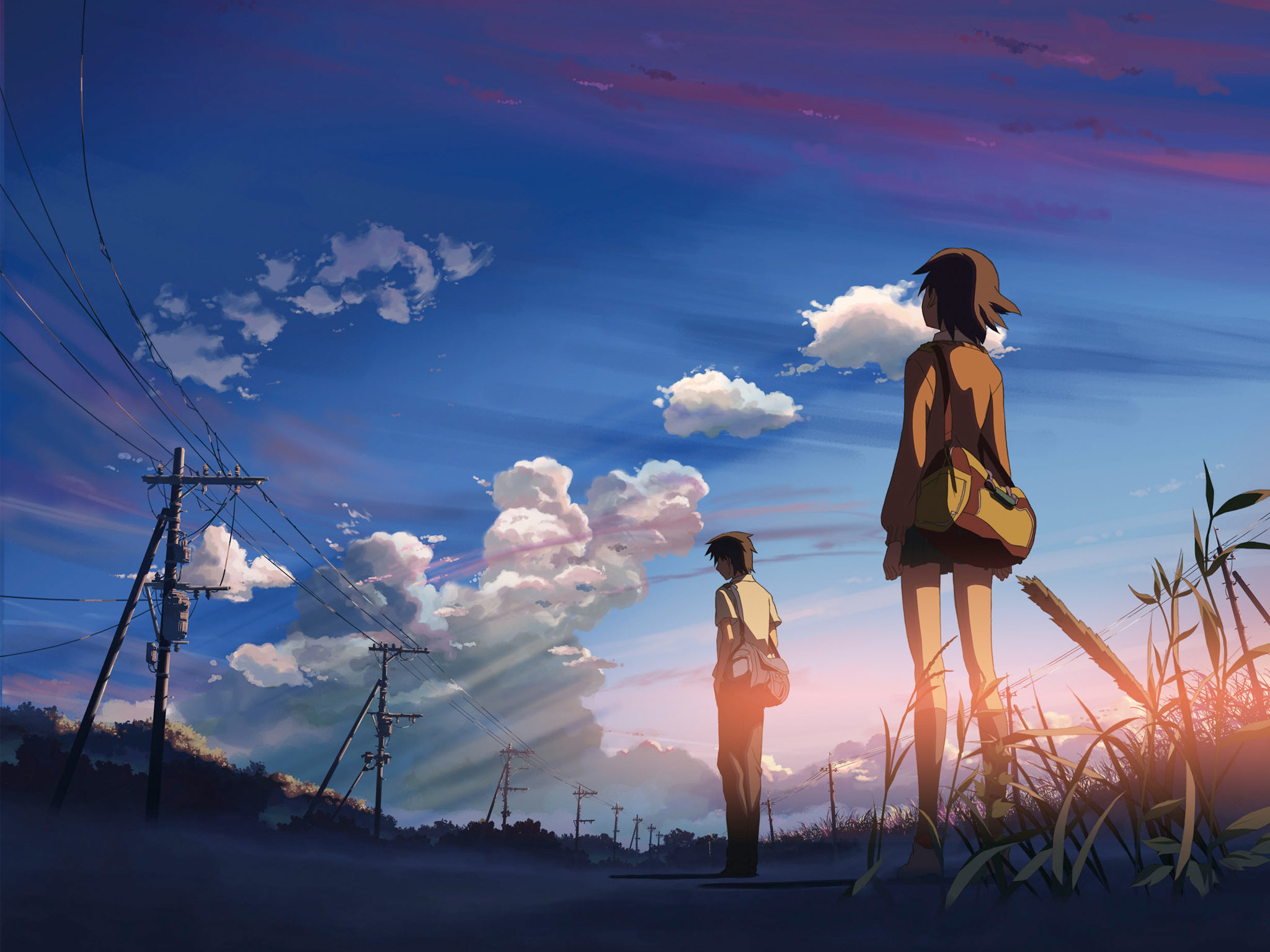 Awesome 5 (cm) Centimeters Per Second free wallpaper ID:90040 for hd 2048x1536 PC