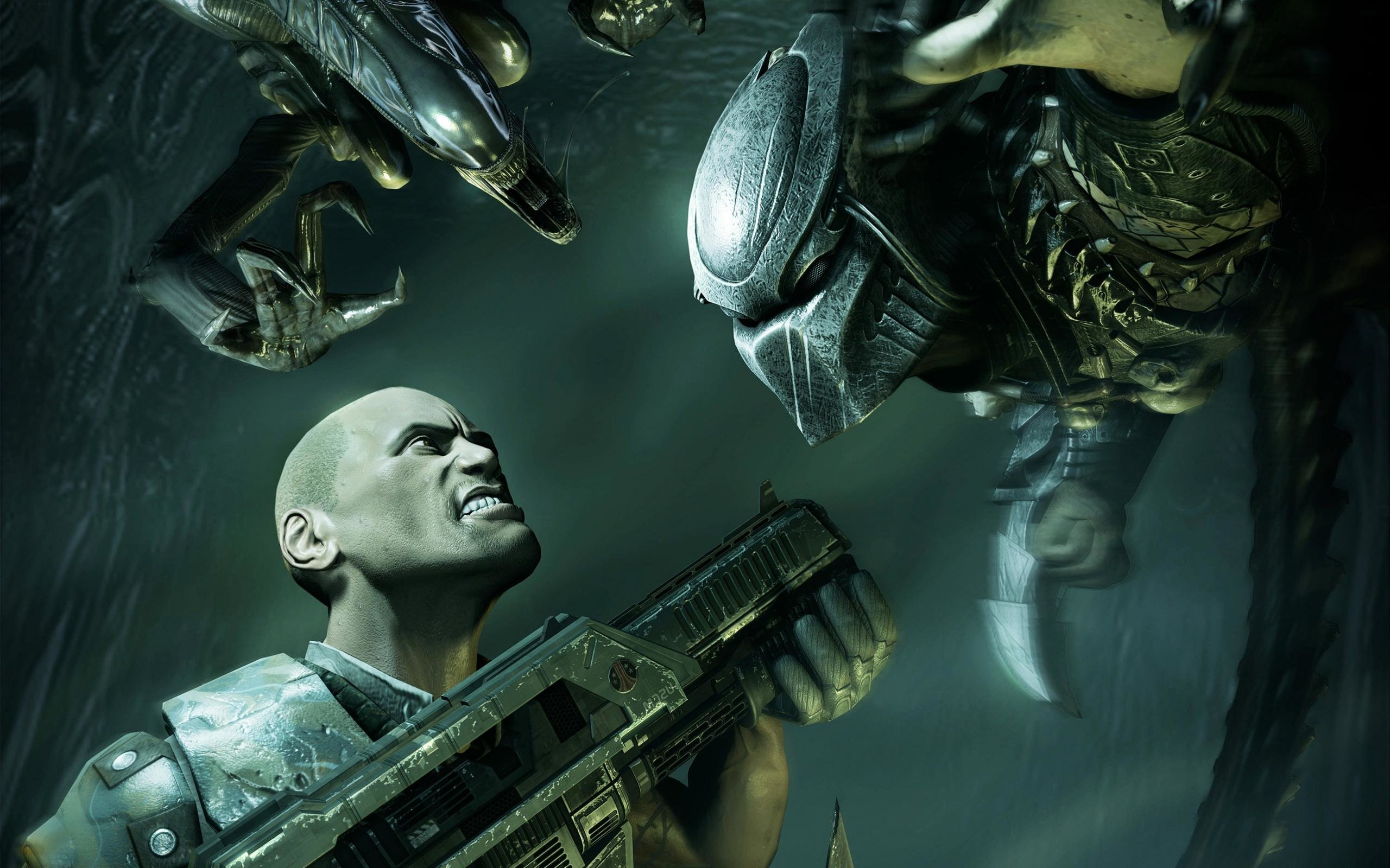 Aliens Vs Predator Wallpapers Hd For Desktop Backgrounds