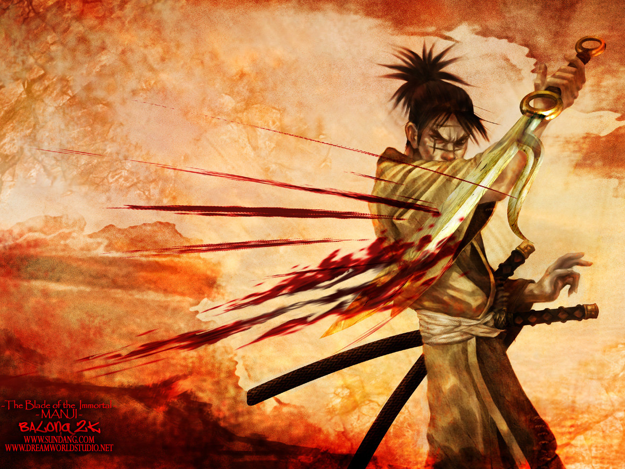 Awesome Blade Of The Immortal free wallpaper ID:447773 for hd 1280x960 PC