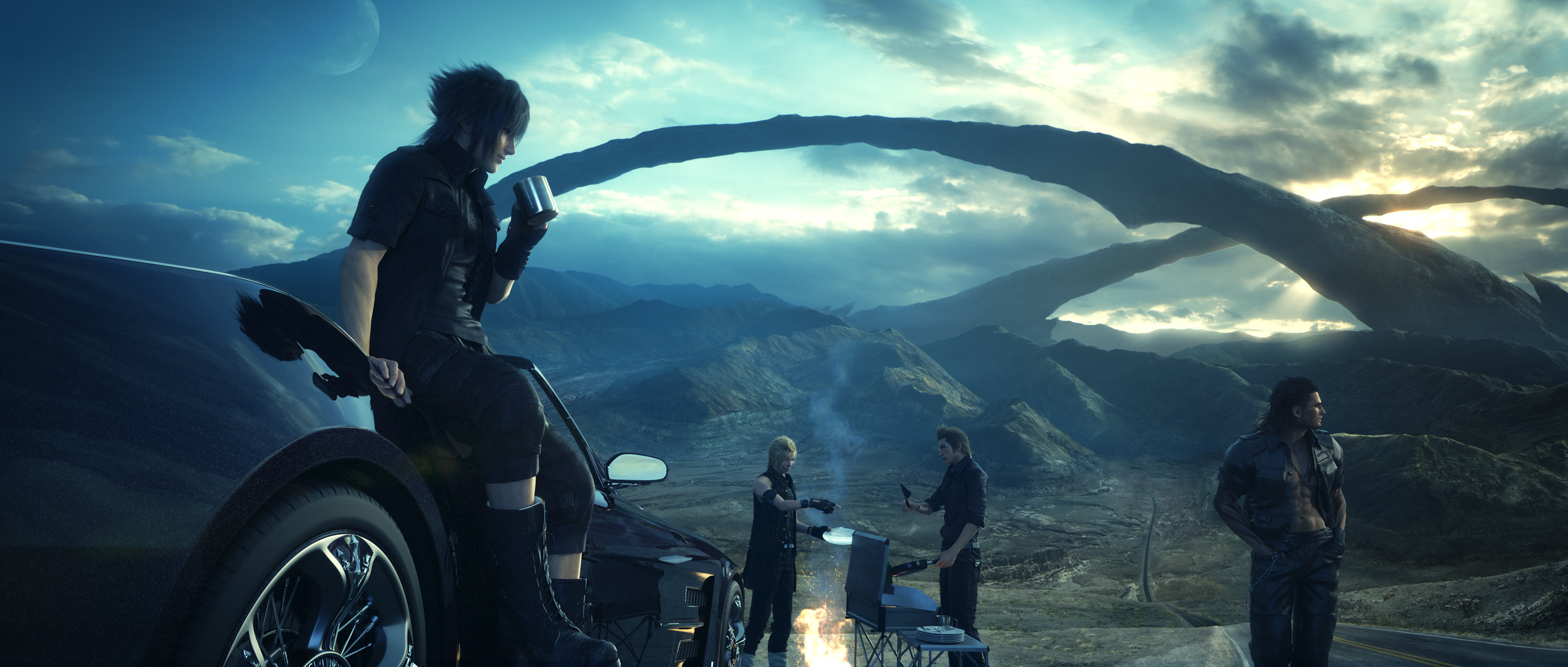 Free Final Fantasy XV (FF15) high quality wallpaper ID:294861 for hd 2560x1600 PC