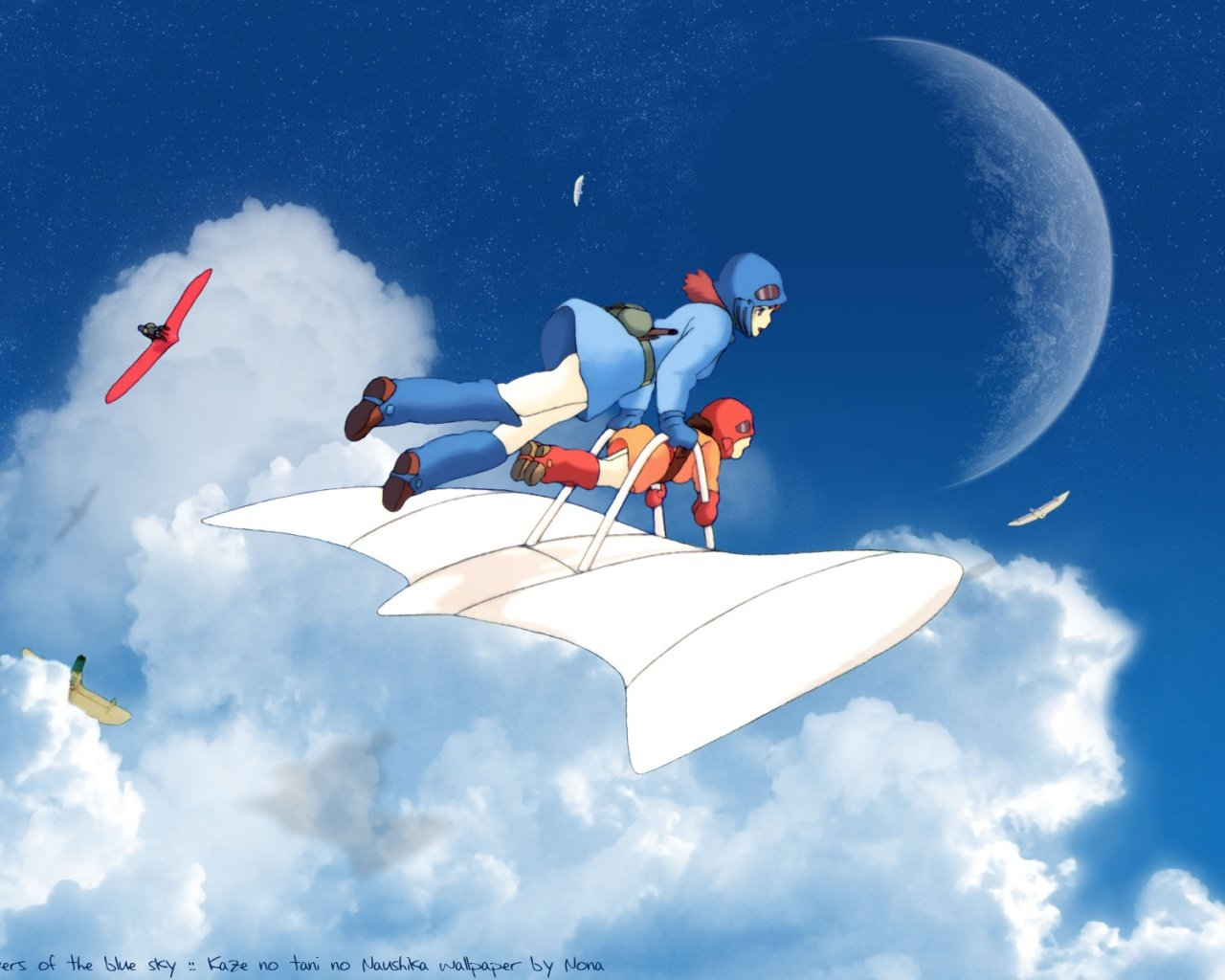 Free download Nausicaa Of The Valley Of The Wind background ID:315394 hd 1280x1024 for desktop