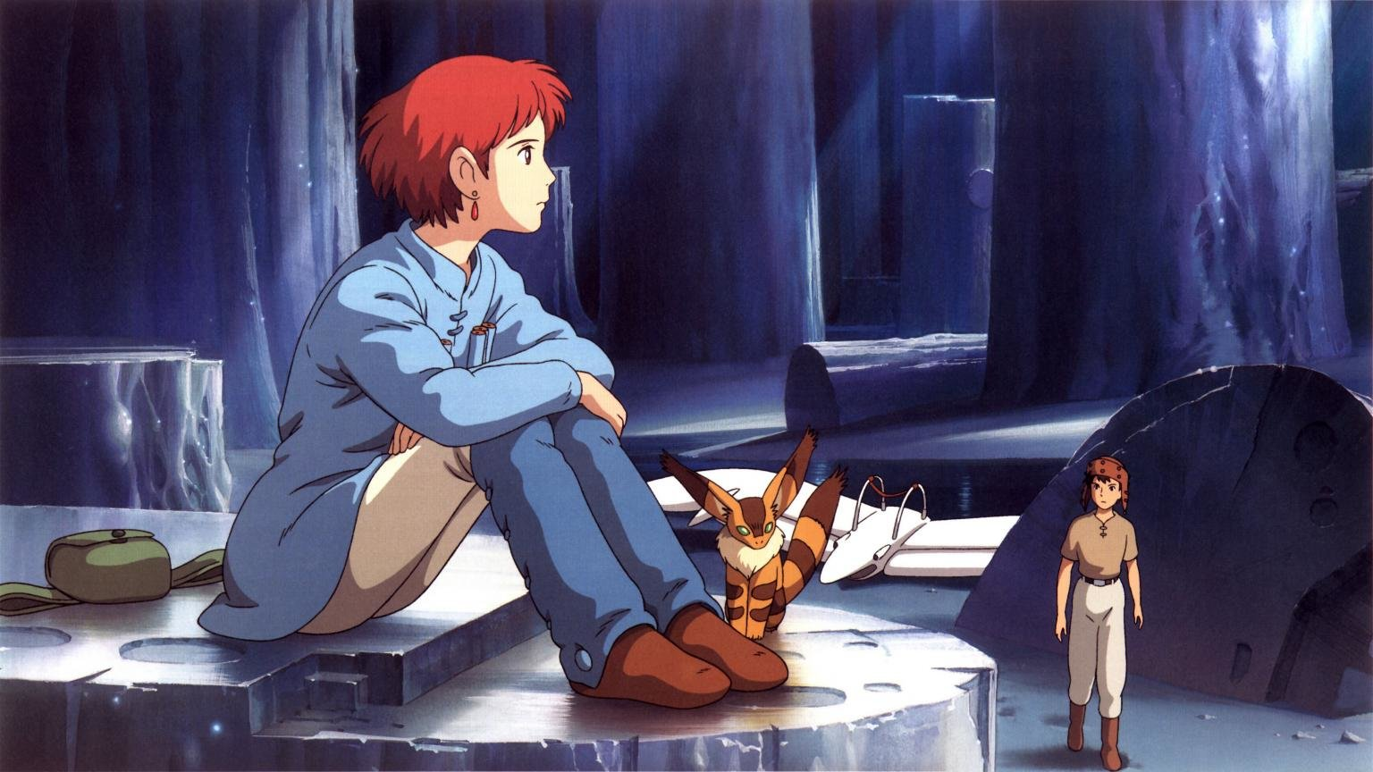 Free Nausicaa Of The Valley Of The Wind high quality background ID:315377 for hd 1536x864 computer