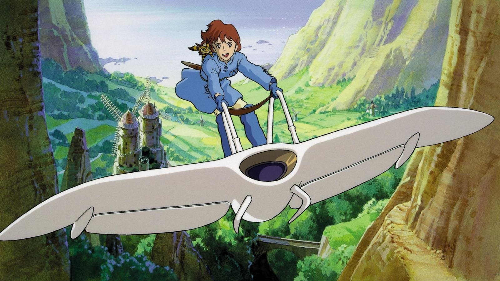 High resolution Nausicaa Of The Valley Of The Wind hd 1600x900 background ID:315376 for PC