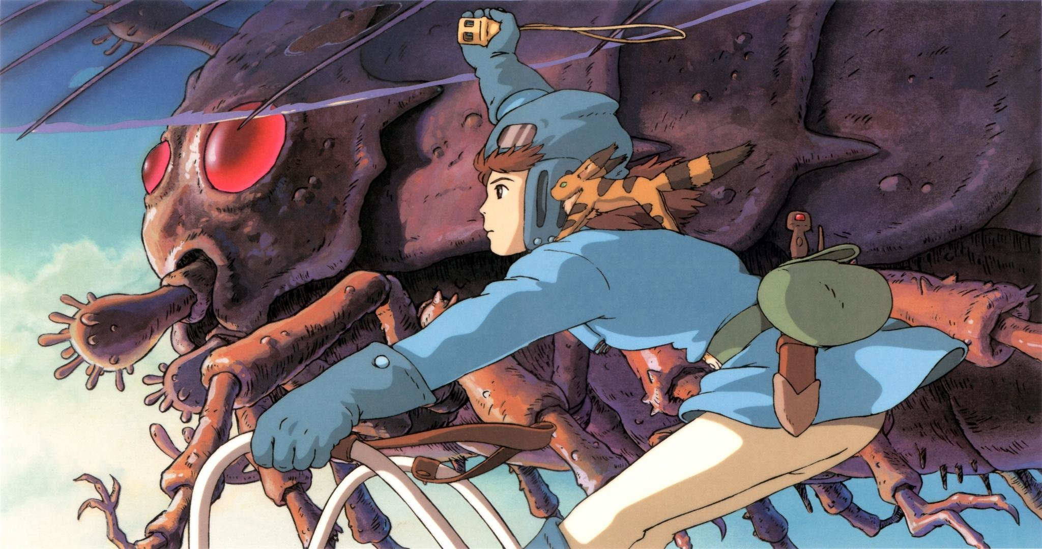 High resolution Nausicaa Of The Valley Of The Wind hd 2048x1080 background ID:315392 for PC