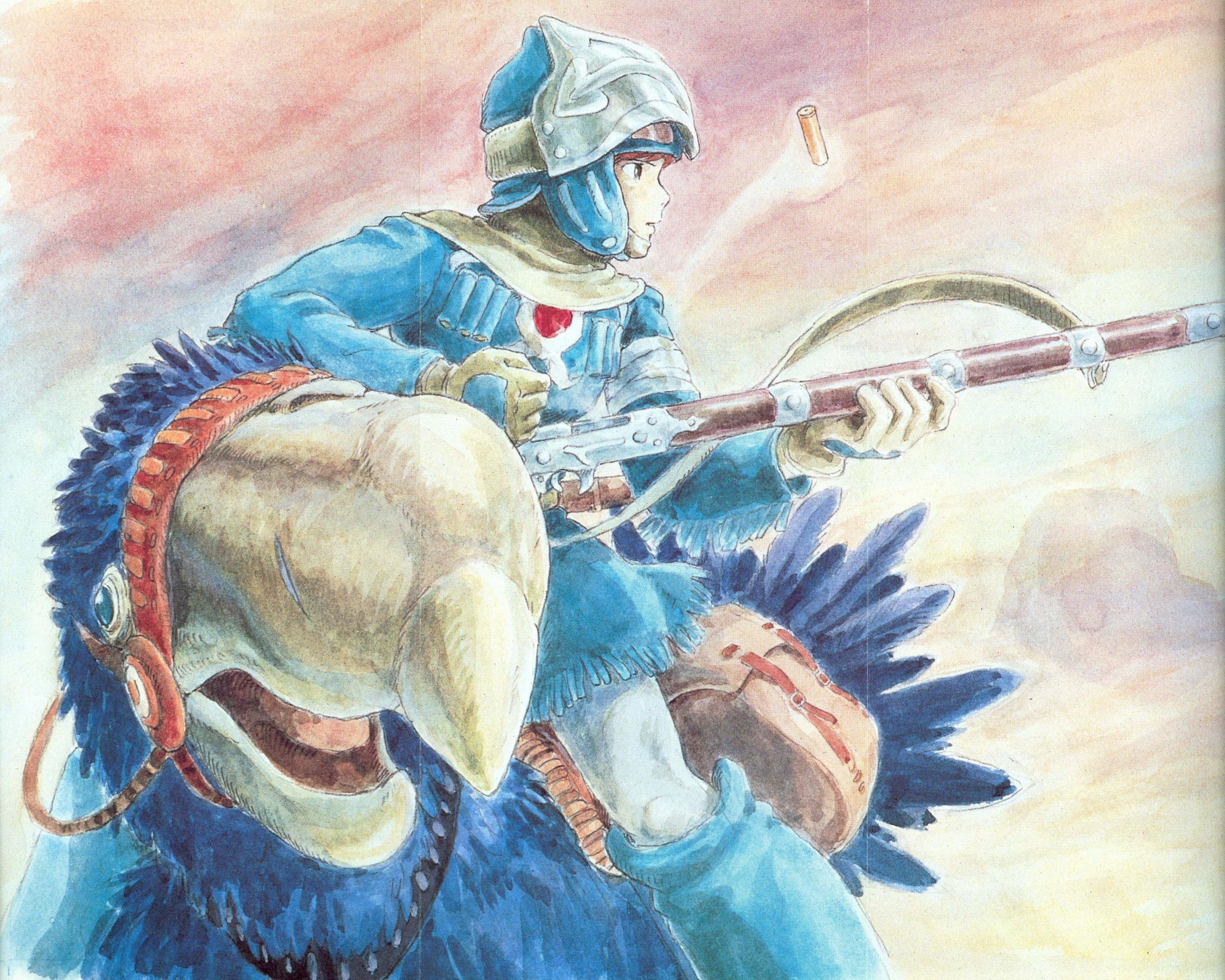 Free download Nausicaa Of The Valley Of The Wind wallpaper ID:315412 hd 2560x2048 for desktop