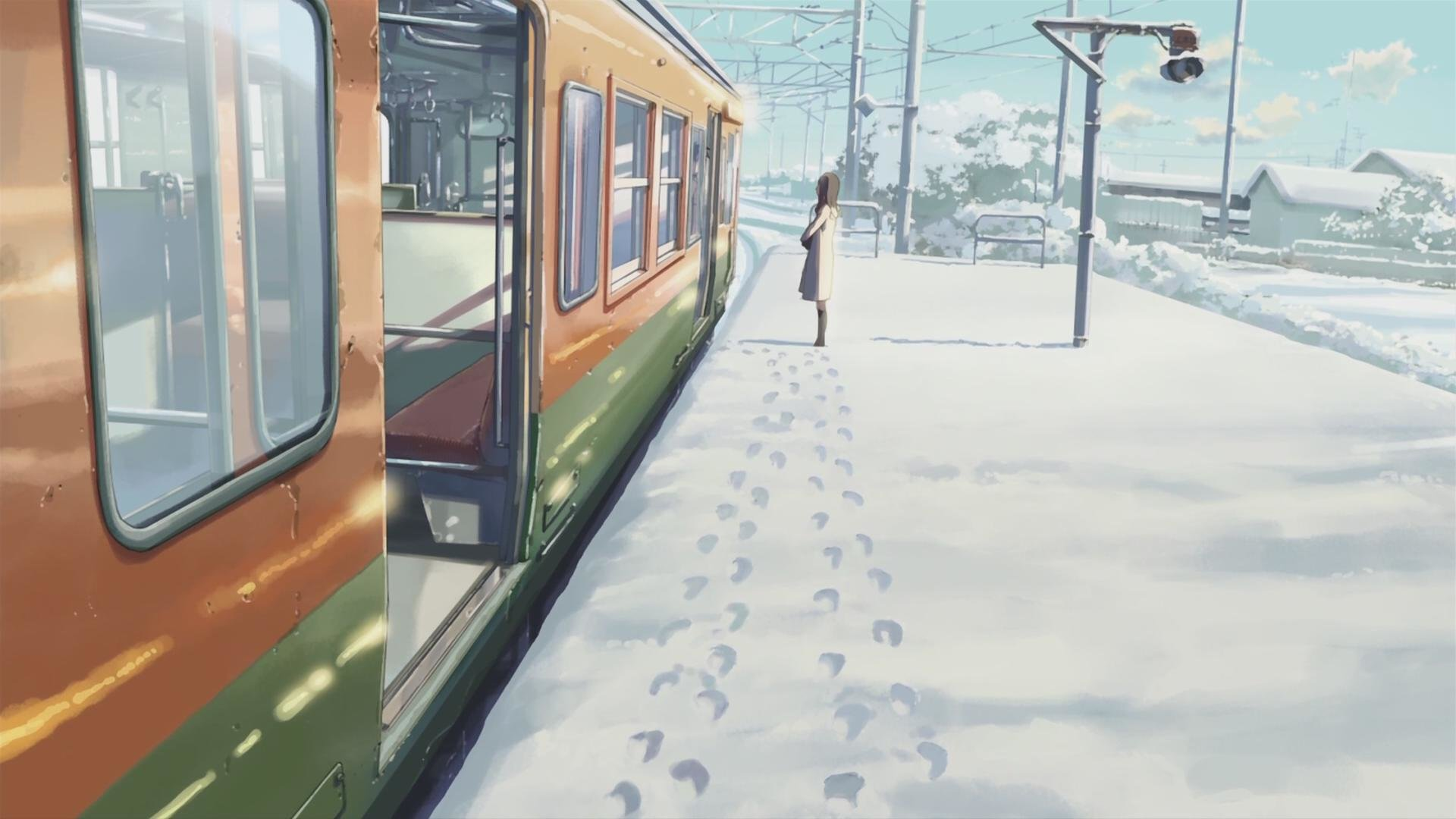 Free download 5 (cm) Centimeters Per Second wallpaper ID:90090 1080p for PC