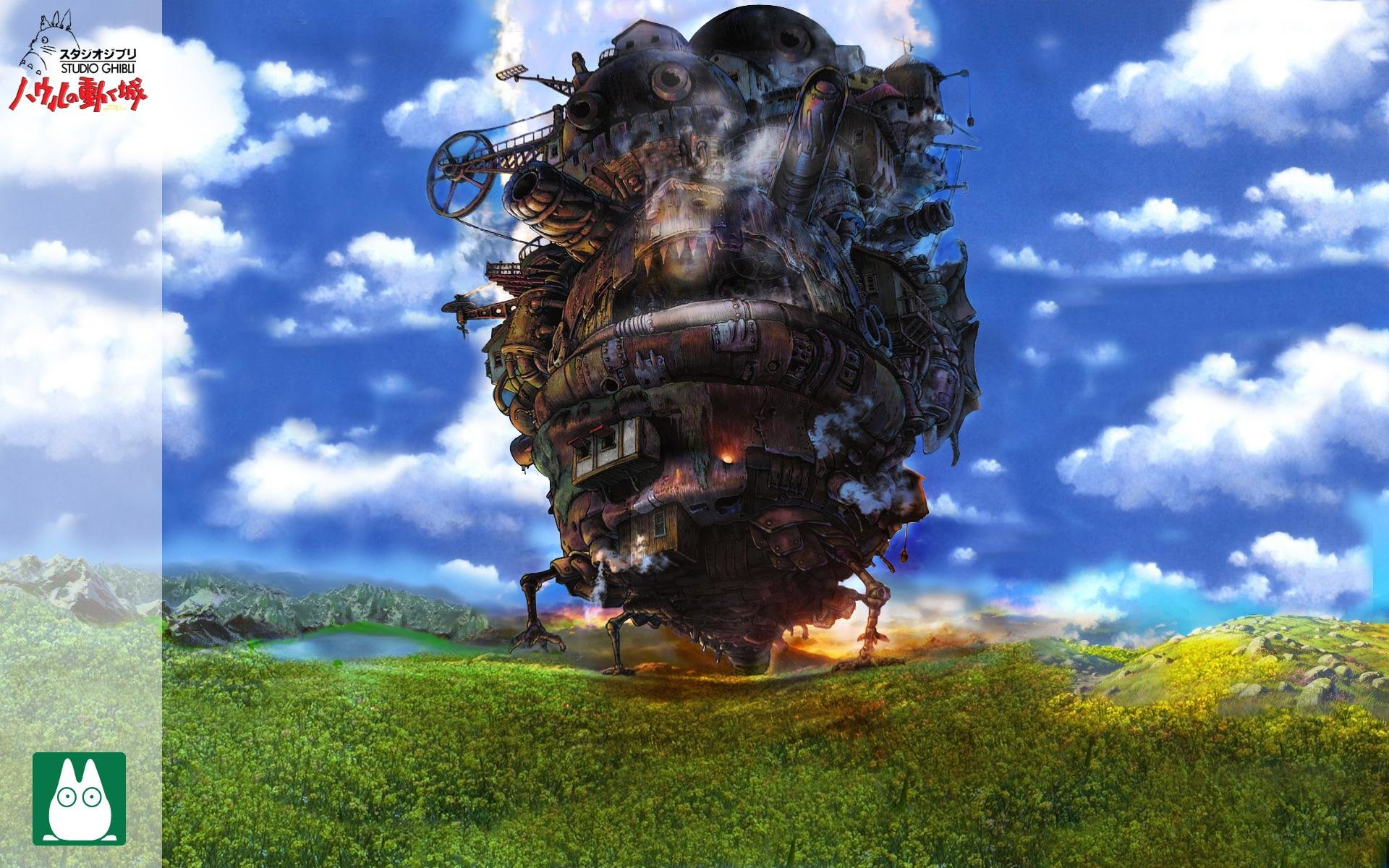 Free download Howl's Moving Castle wallpaper ID:347896 hd 1920x1200 for computer