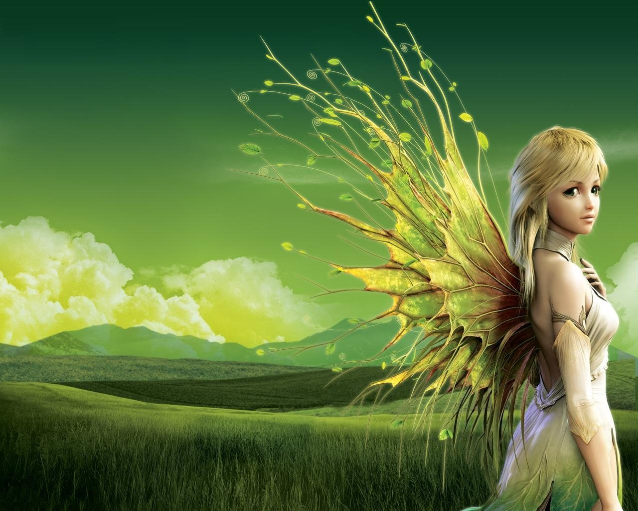 High resolution Fairy hd 1280x1024 wallpaper ID:96475 for computer