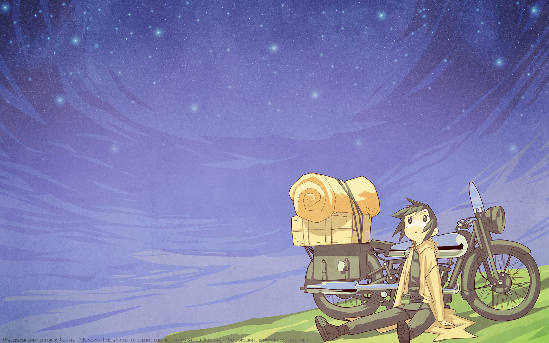 Free download Kino's Journey wallpaper ID:326584 hd 1920x1200 for PC