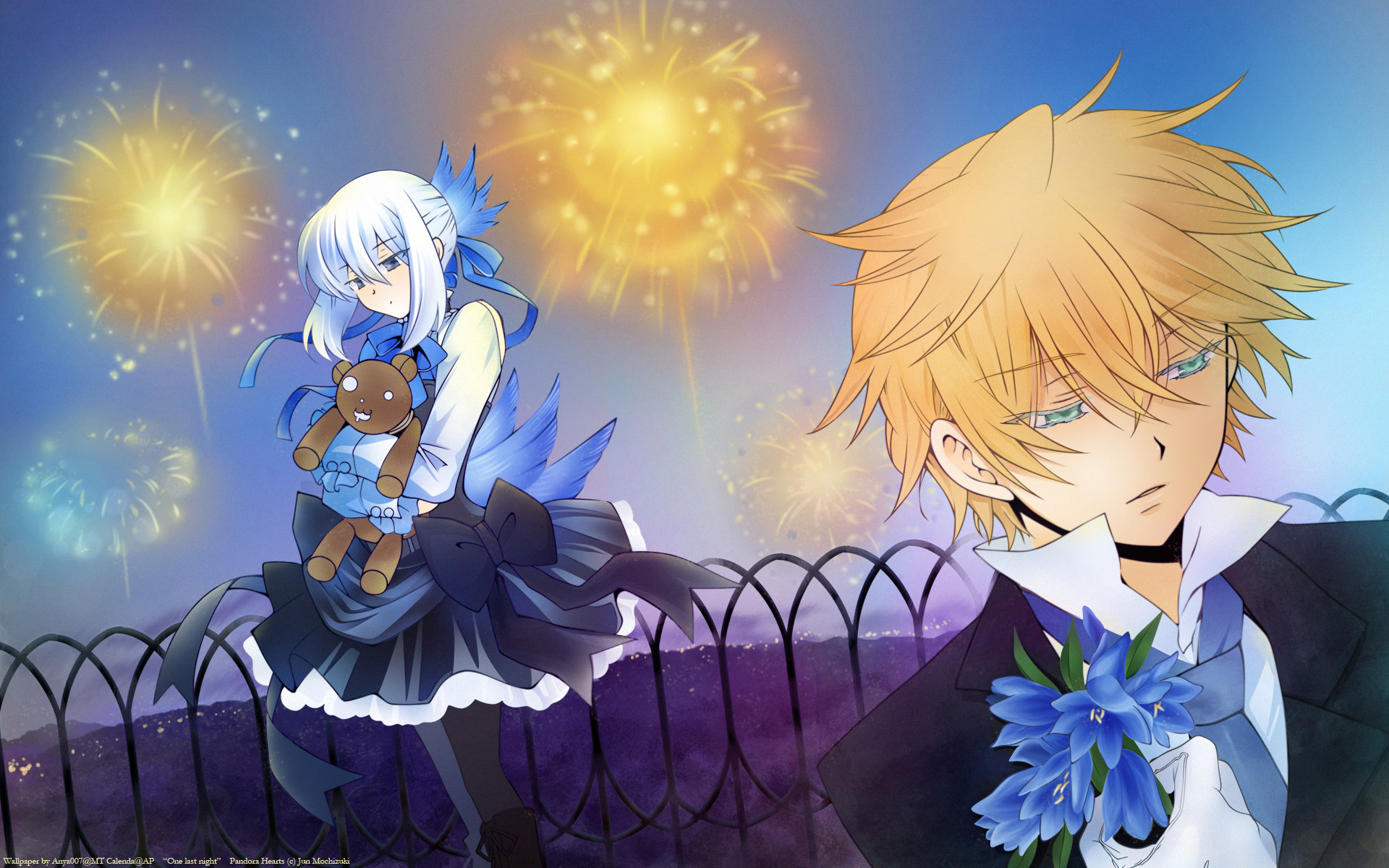 Download hd 1920x1200 Pandora Hearts PC wallpaper ID:48974 for free