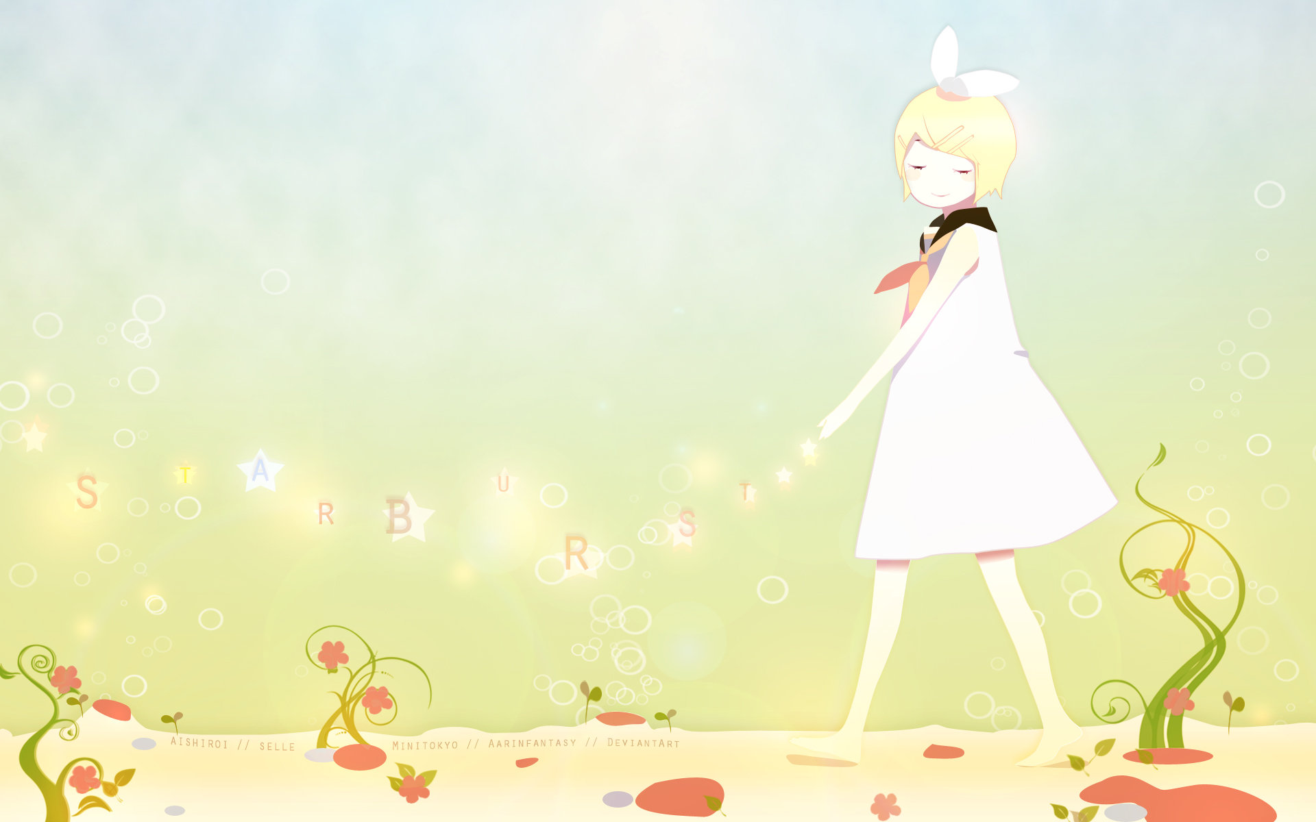 Awesome Rin Kagamine free wallpaper ID:4404 for hd 1920x1200 computer