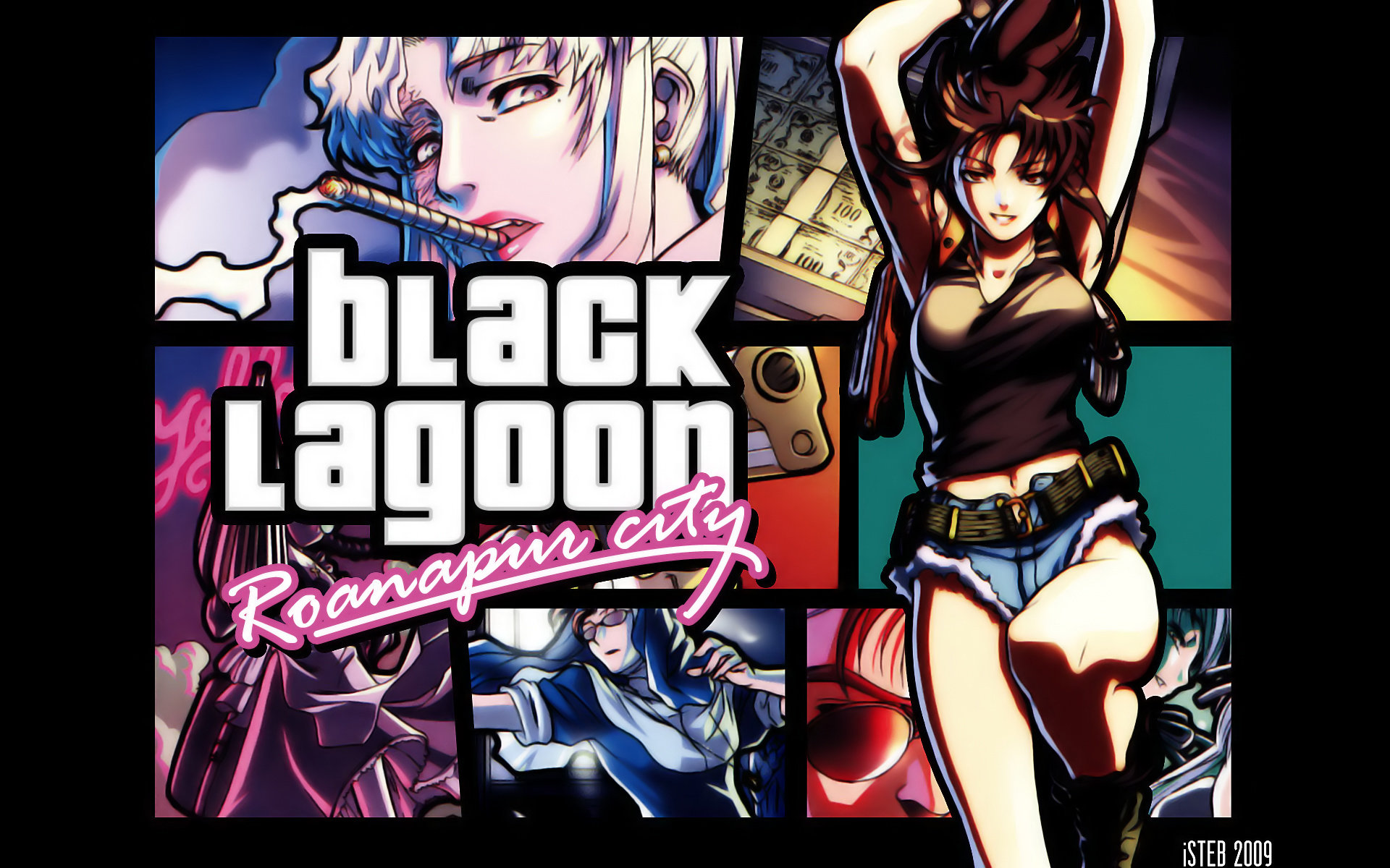 High resolution Black Lagoon hd 1920x1200 background ID:113608 for computer