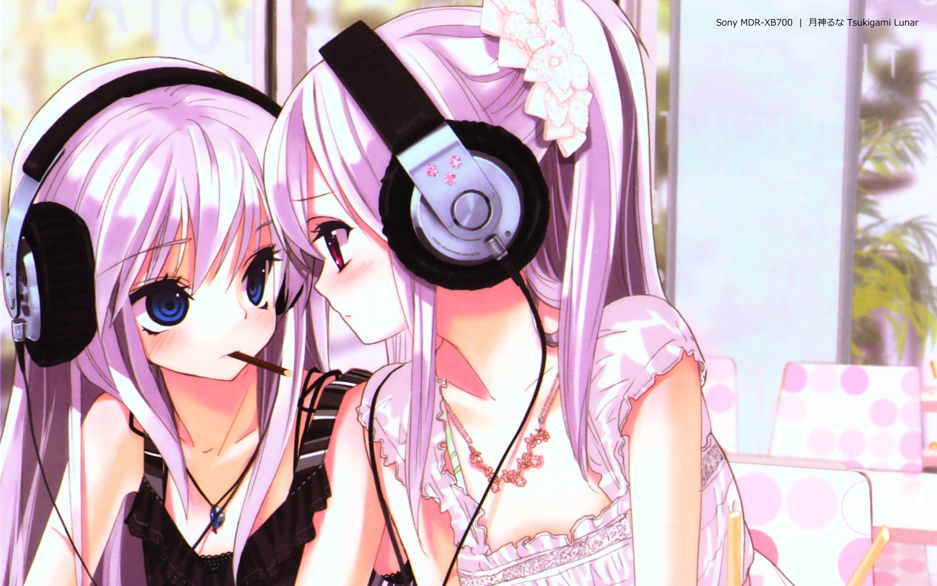 Awesome Headphones Anime free background ID:142274 for hd 1920x1200 desktop