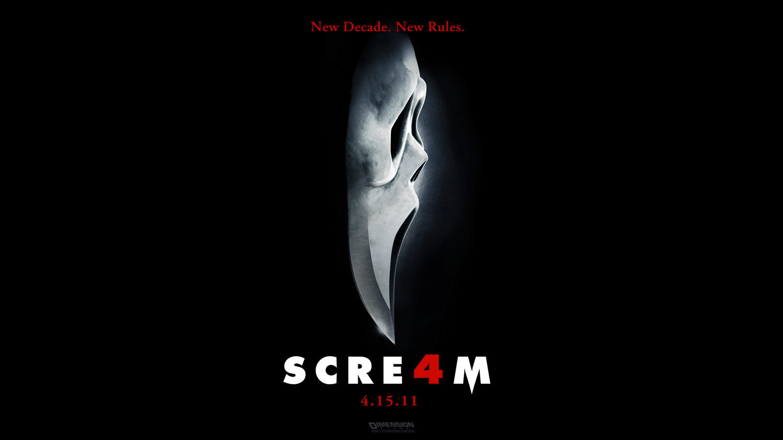 Awesome Scream 4 free wallpaper ID:27097 for hd 1600x900 PC