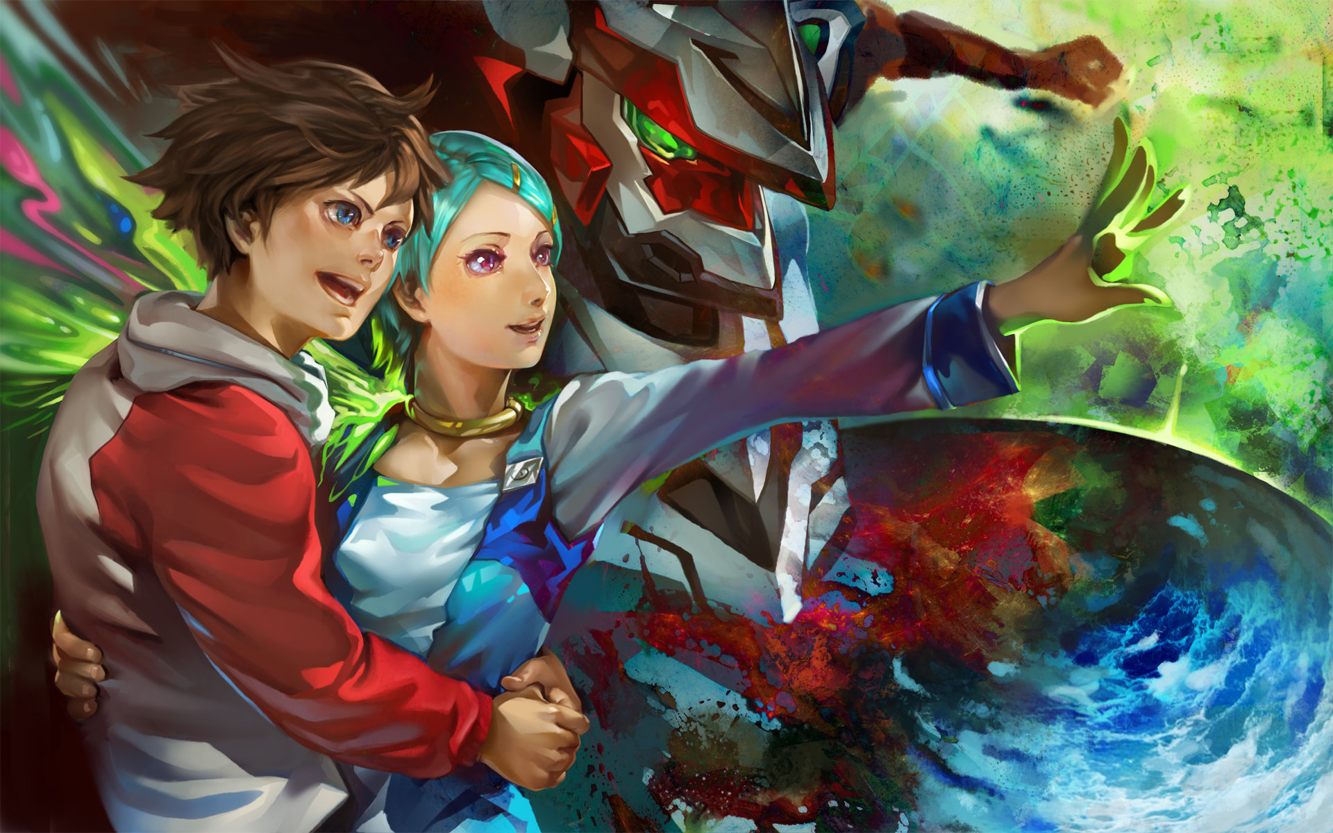 Download hd 1920x1200 Eureka Seven computer wallpaper ID:281218 for free