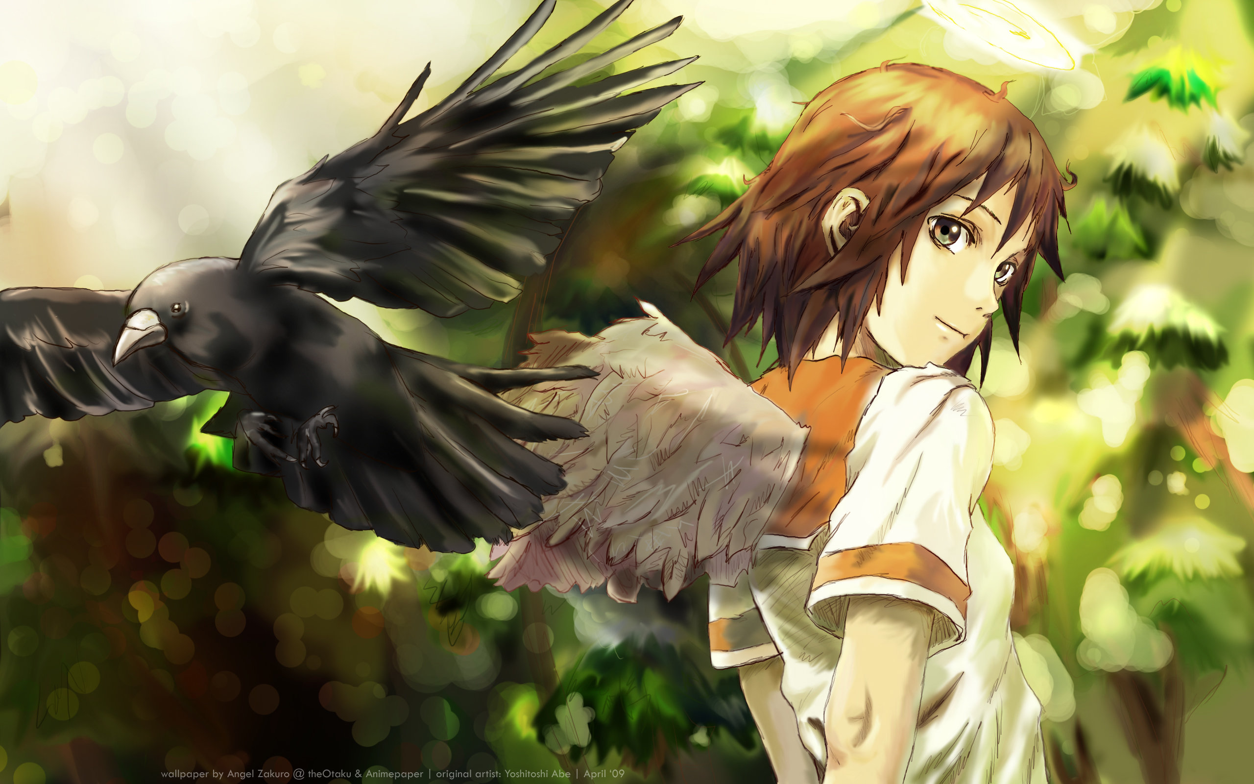 Free download Haibane Renmei background ID:467844 hd 2560x1600 for computer