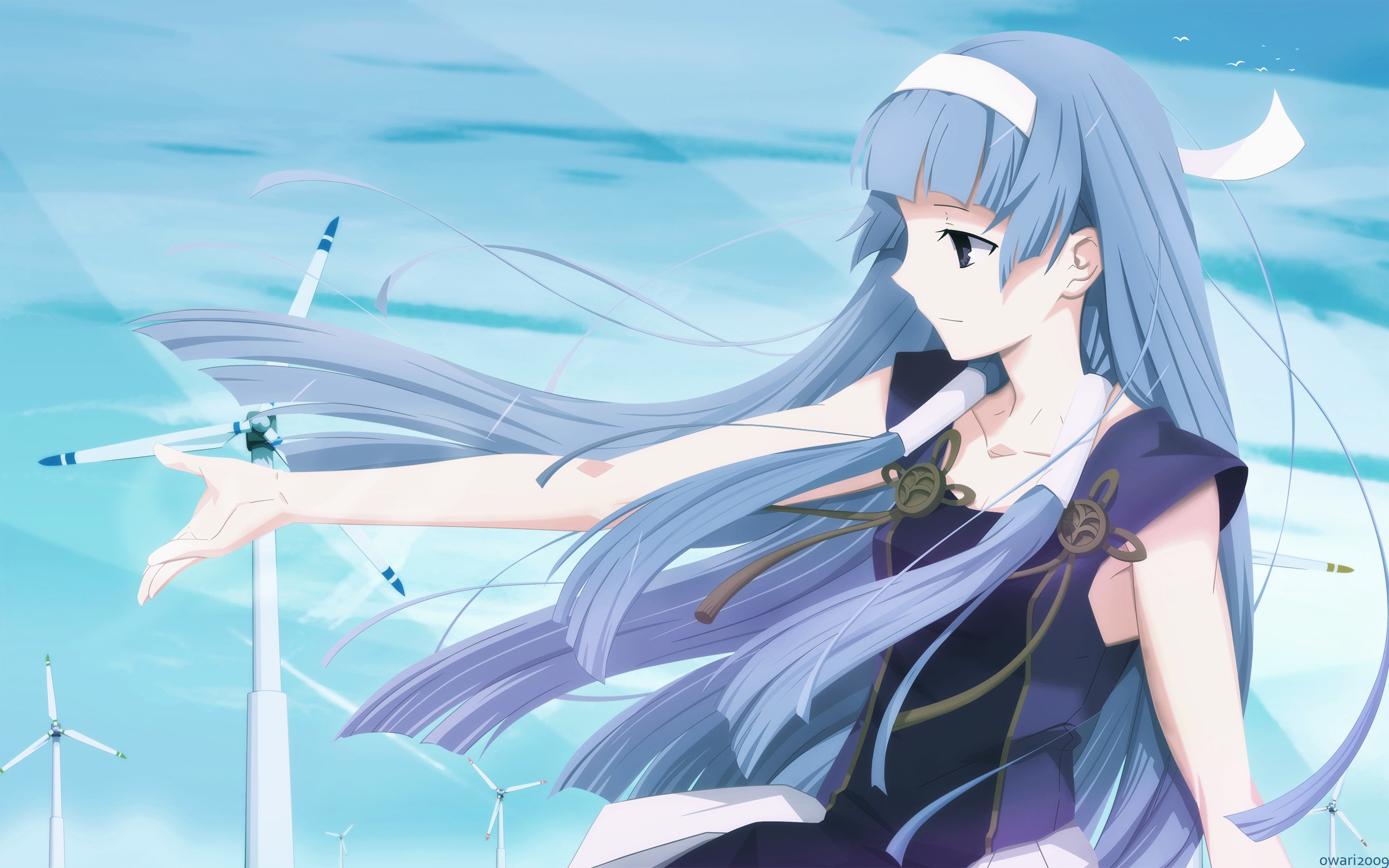 Download hd 2560x1600 Nagi (Kannagi) desktop background ID:375976 for free