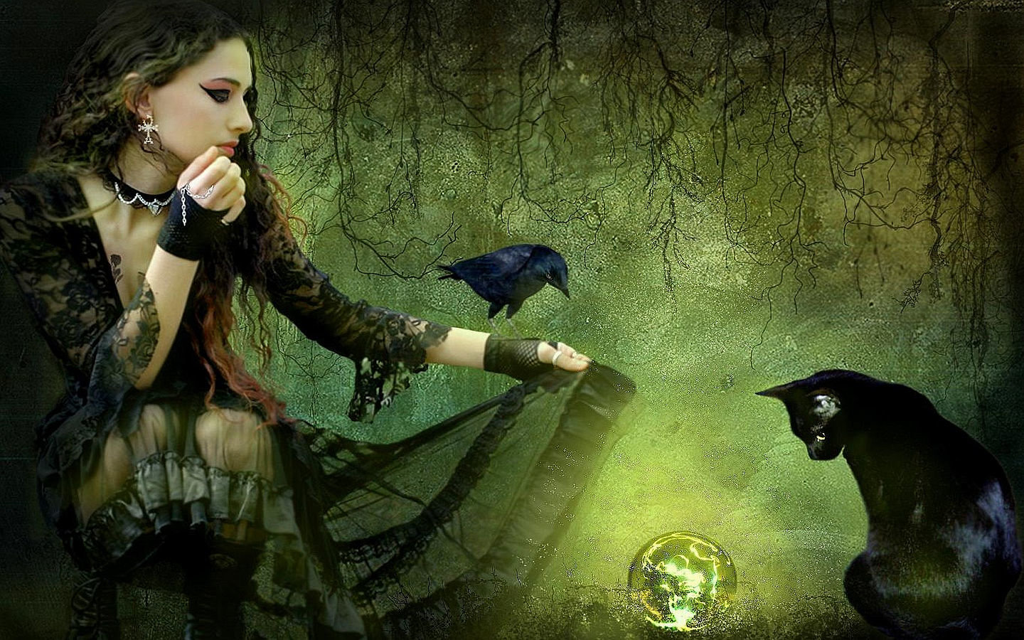 Free download Witch background ID:410685 hd 1440x900 for computer