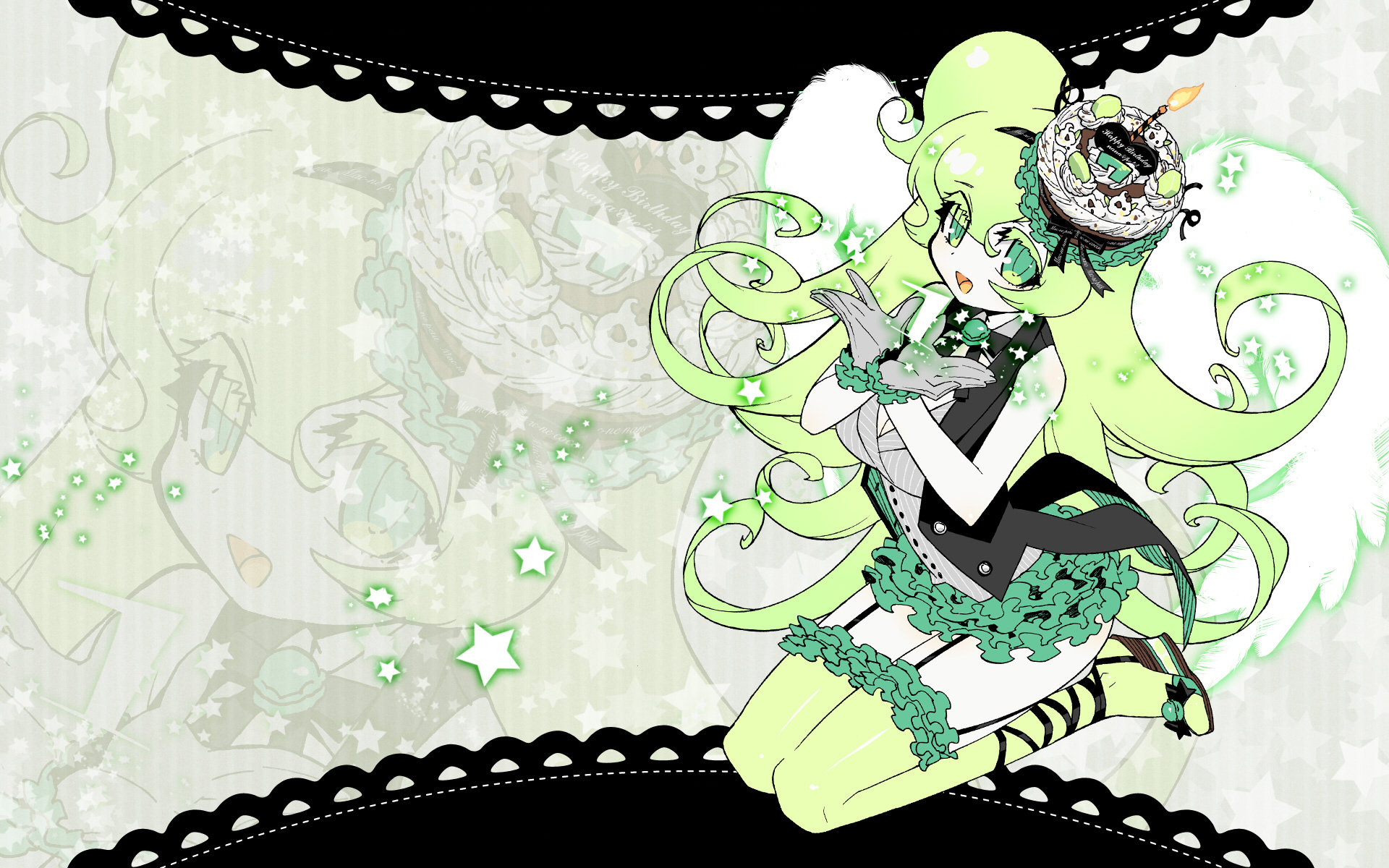 Awesome GUMI (Vocaloid) free wallpaper ID:4392 for hd 1920x1200 desktop