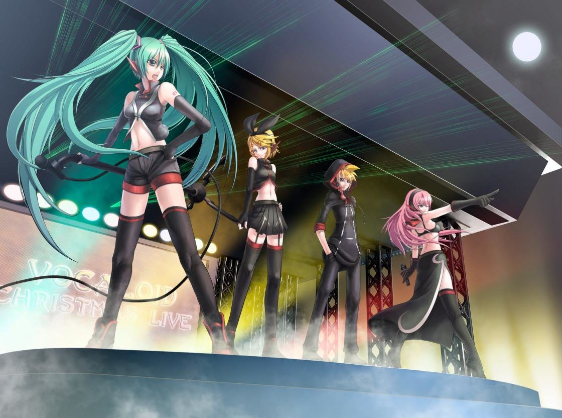 Download hd 1120x832 Vocaloid PC background ID:407 for free