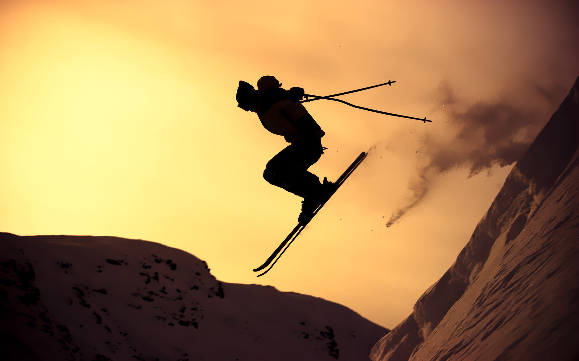 Free Skiing high quality background ID:27244 for hd 1920x1200 PC