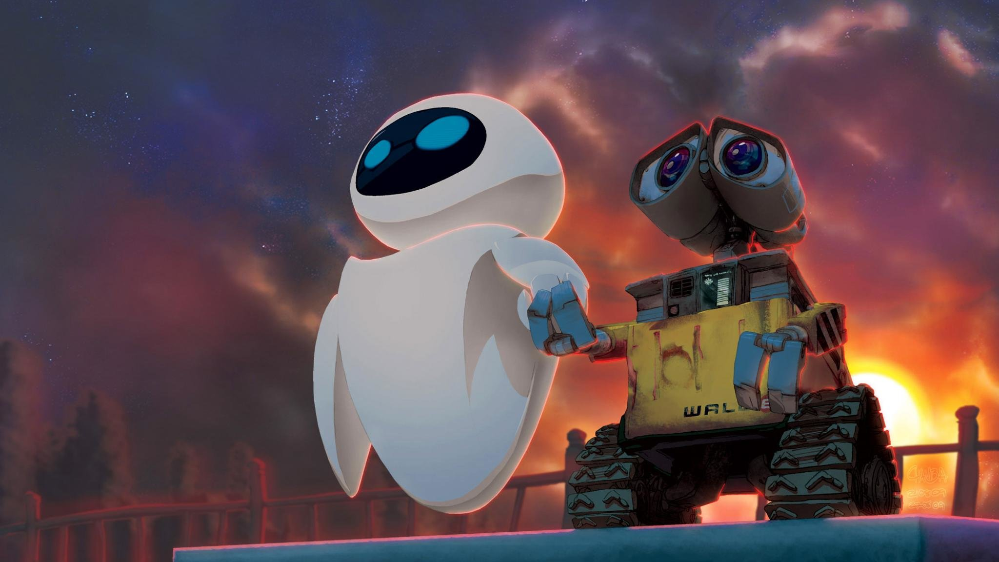 Download hd 2048x1152 Wall.E PC background ID:25924 for free