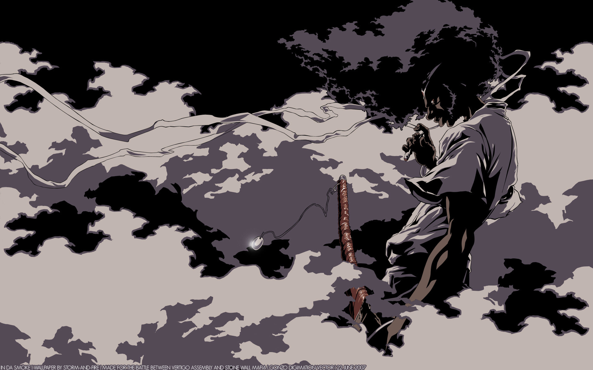 Free Afro Samurai high quality background ID:329155 for hd 1920x1200 desktop