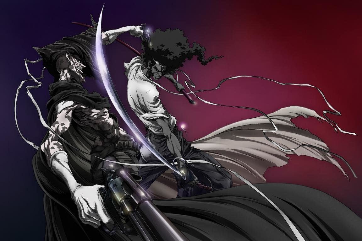Awesome Afro Samurai free wallpaper ID:329161 for hd 1152x768 PC