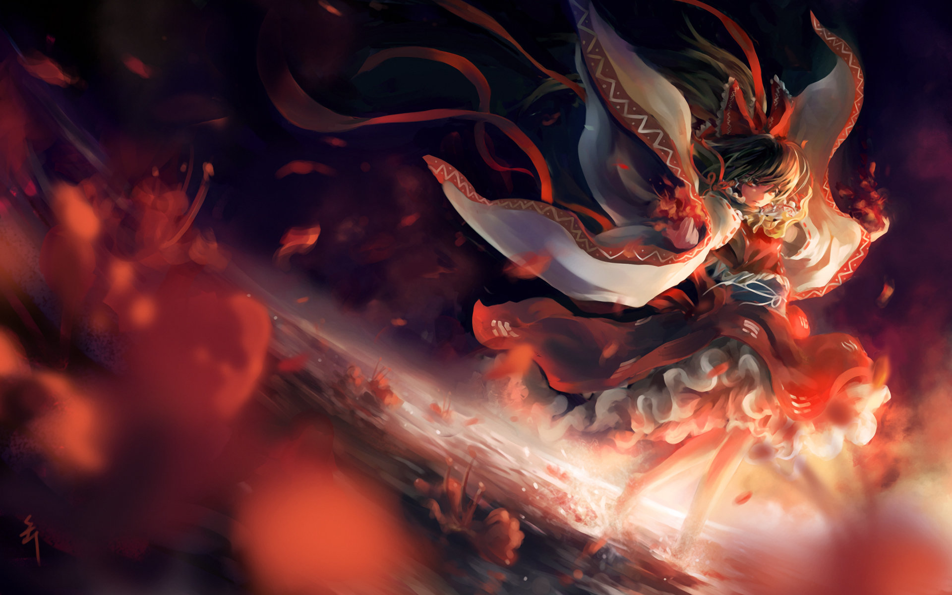 Awesome Reimu Hakurei free wallpaper ID:221044 for hd 1920x1200 desktop