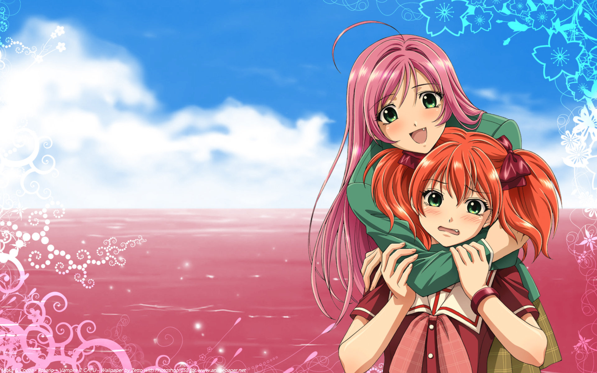 Download hd 1920x1200 Rosario + Vampire desktop background ID:164662 for free