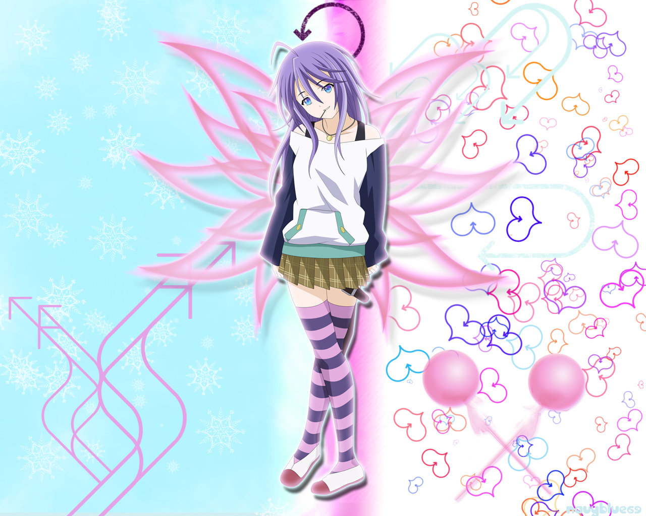 Free download Rosario + Vampire wallpaper ID:164668 hd 1280x1024 for PC
