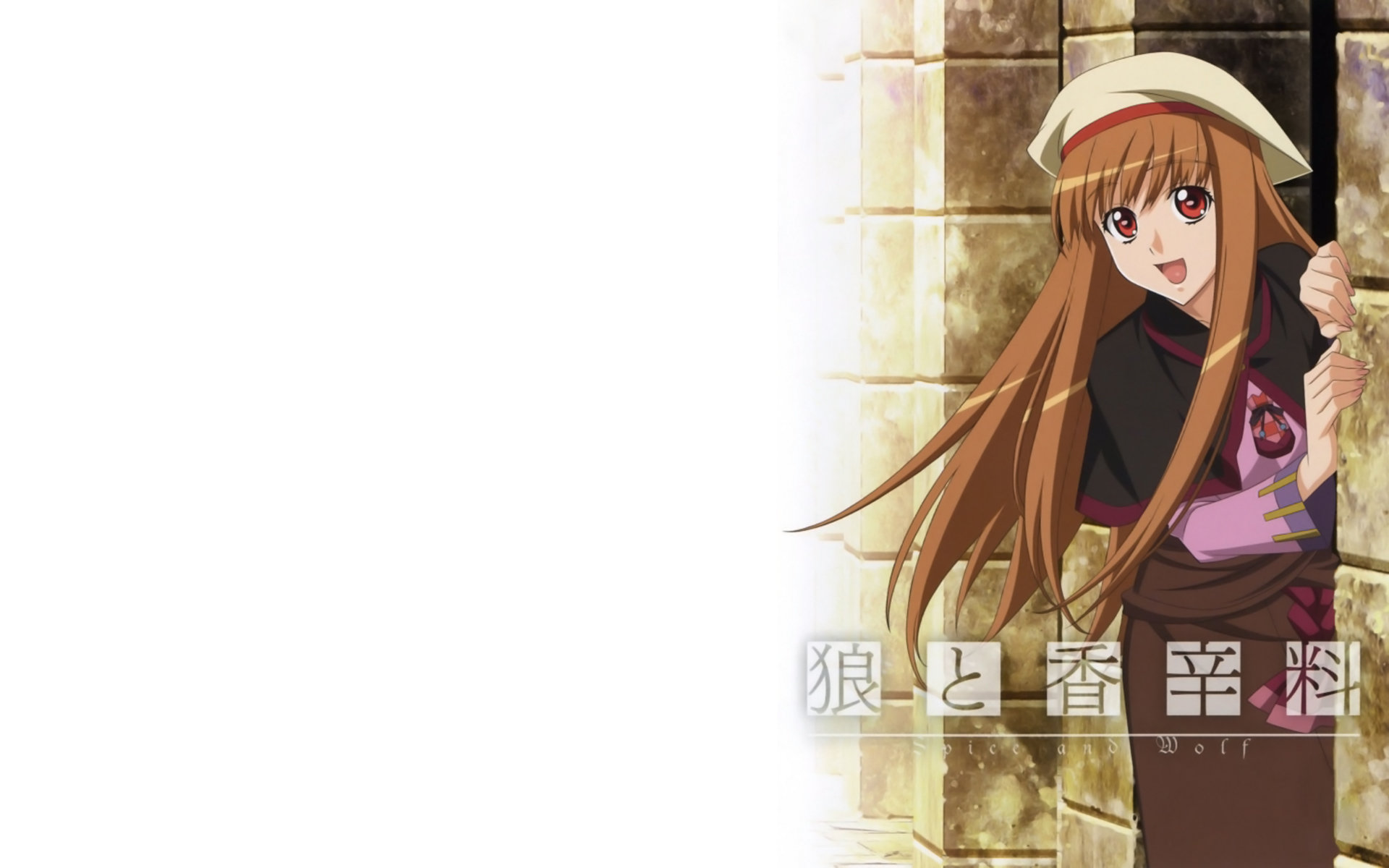 High resolution Spice And Wolf hd 1920x1200 background ID:399719 for PC