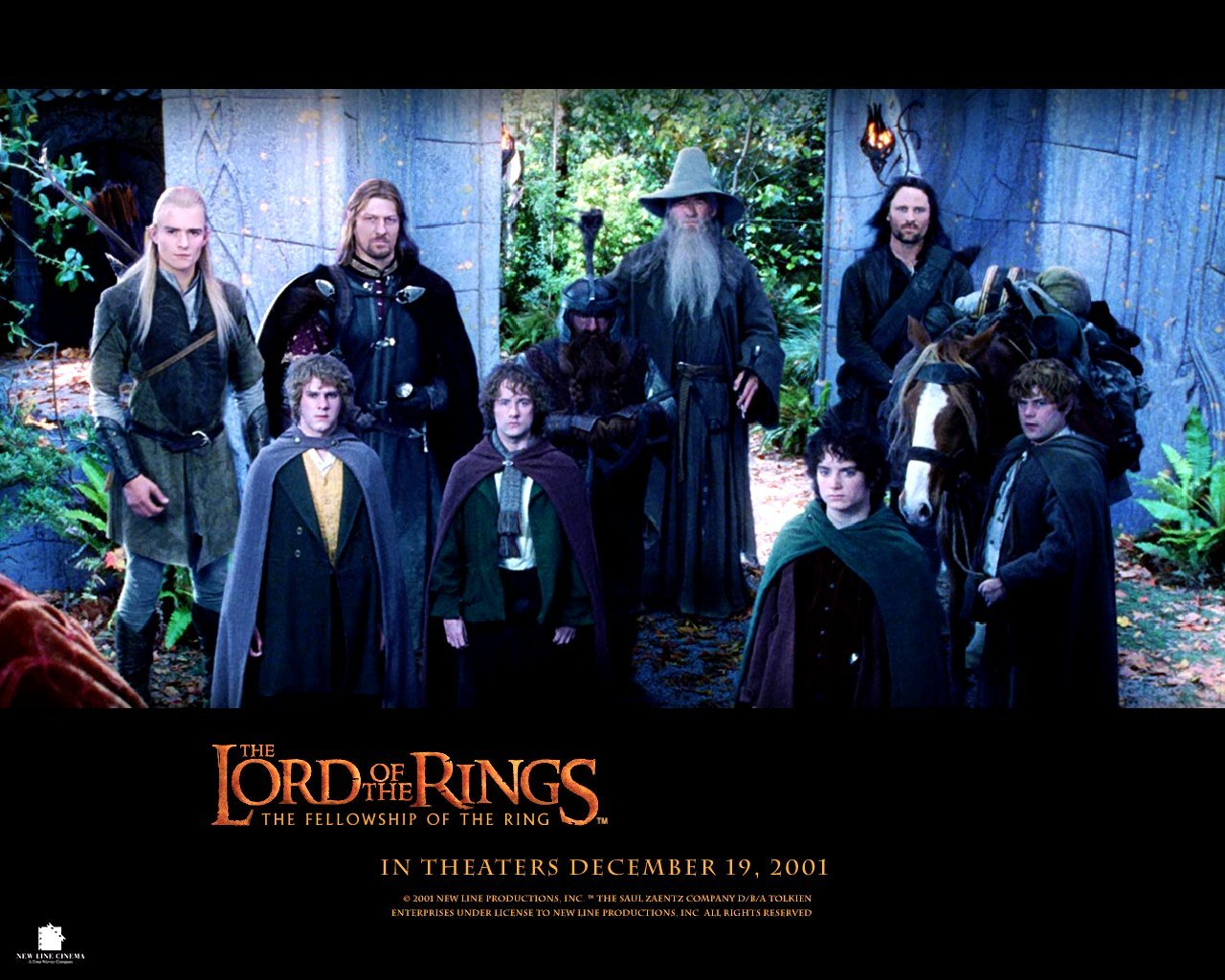 High Resolution The Lord Of The Rings The Fellowship Of The Ring