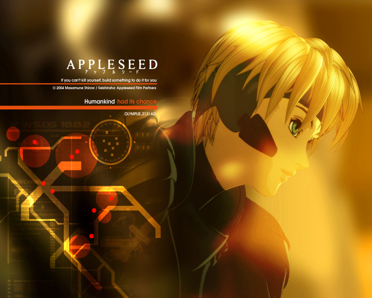 Awesome Appleseed free wallpaper ID:125394 for hd 1280x1024 PC