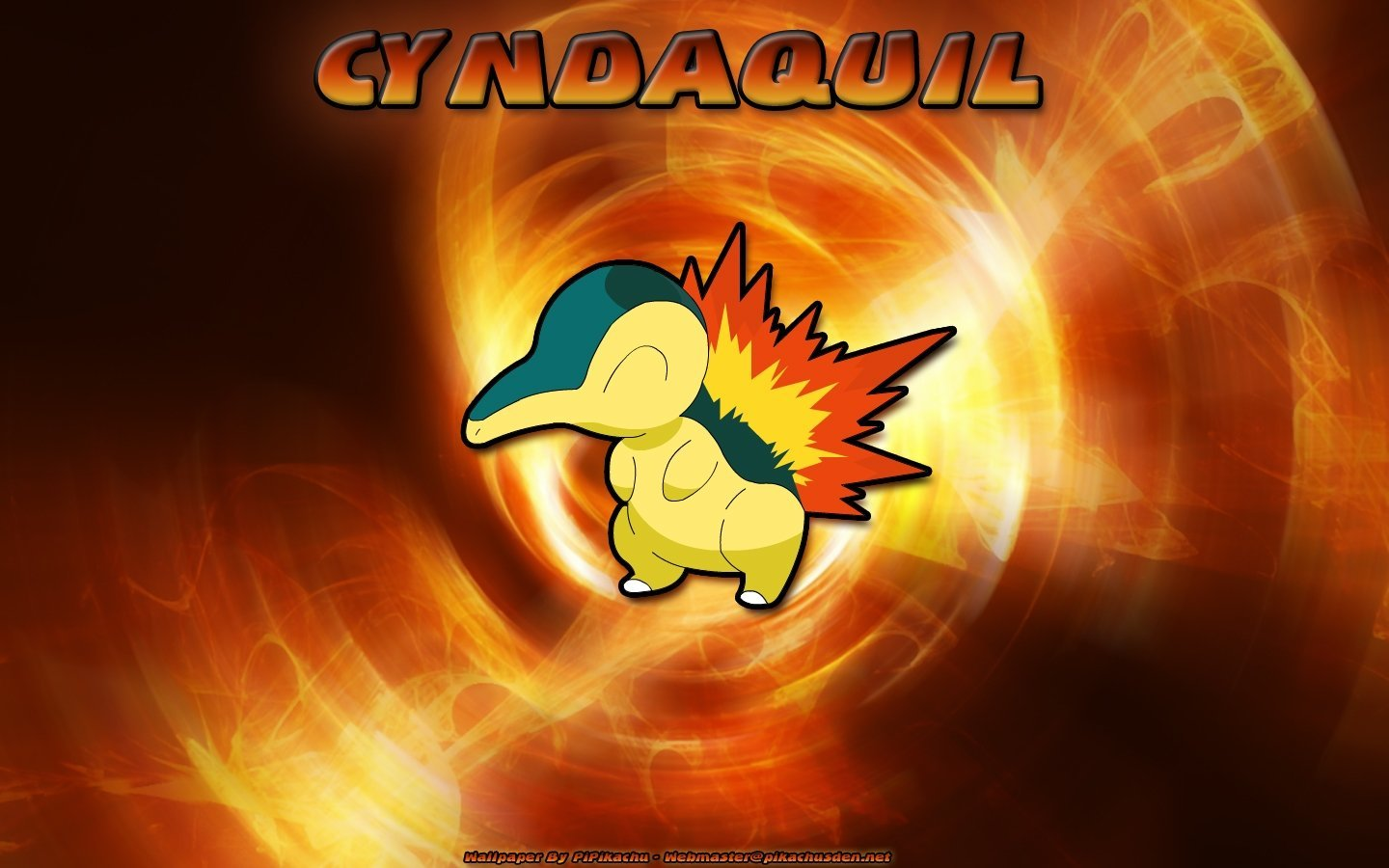 Awesome Cyndaquil (Pokemon) free wallpaper ID:278965 for hd 1440x900 computer